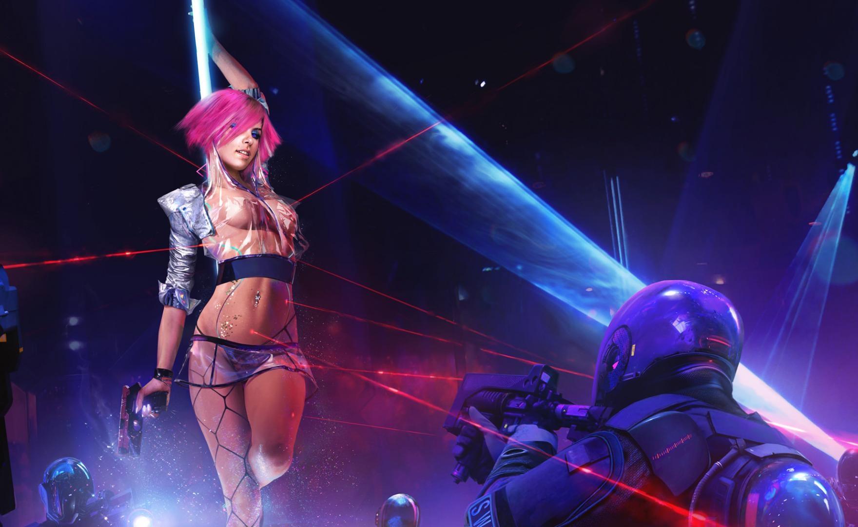 Cyberpunk 2077 primi minuti di gioco su PS4 Pro e PS5