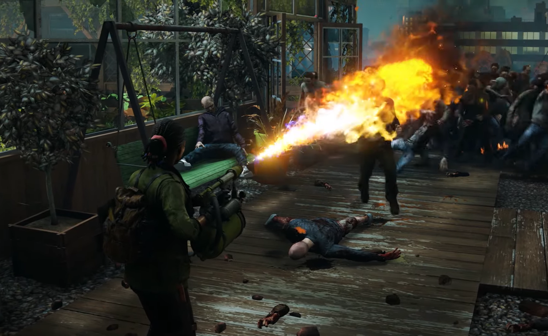World War Z, disponibile l'aggiornamento Kill with Fire