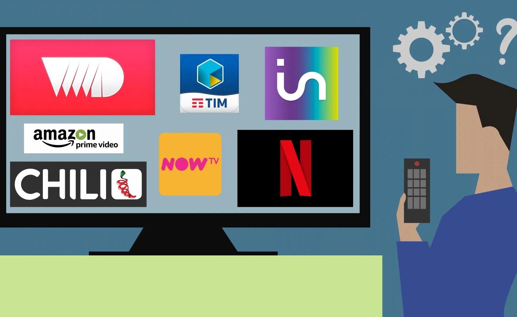 Servizi Streaming, consigli per l'uso!