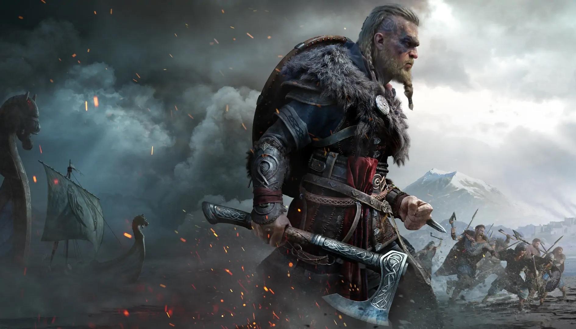 Assassin's Creed Valhalla invaso da bambini giganti, il motivo