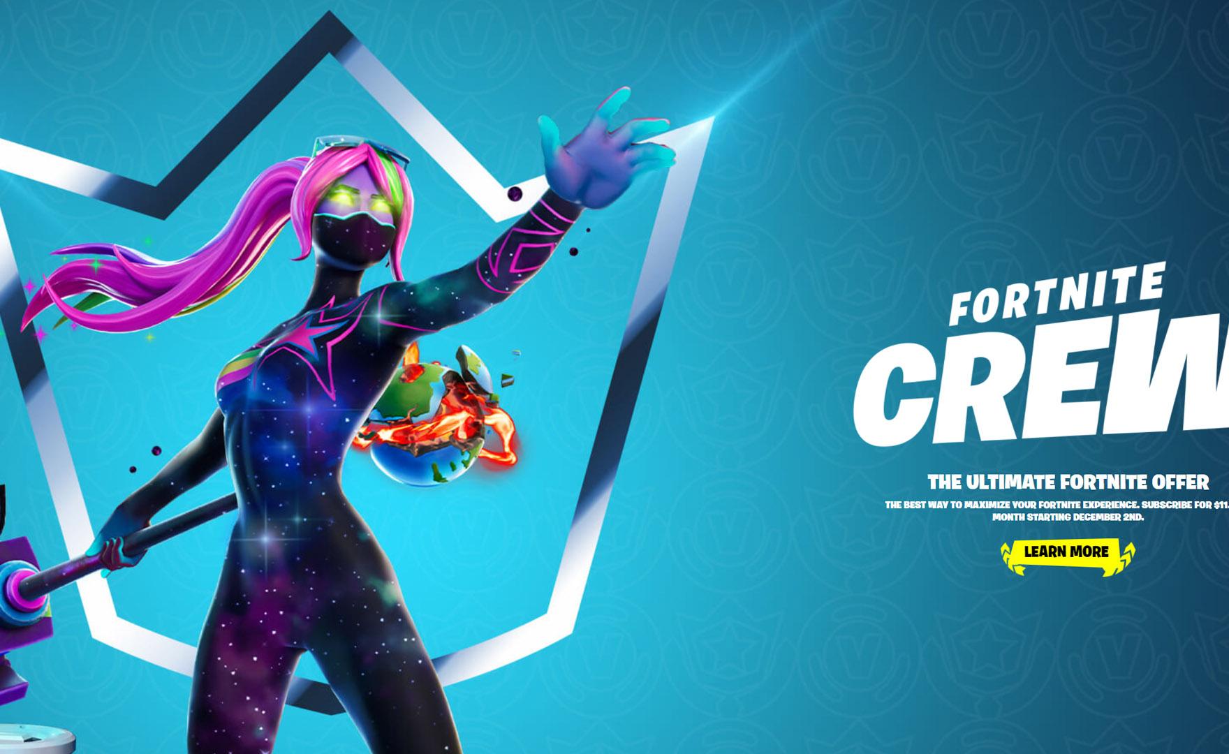 Fortnite Crew è il nuovo abbonamento: prezzo e contenuti
