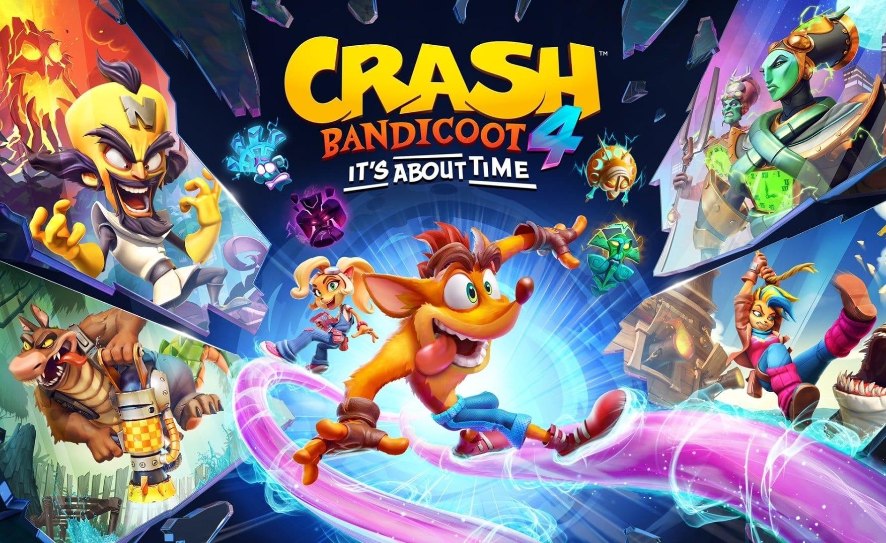Crash Bandicoot 4, niente rete? Su PC non si gioca