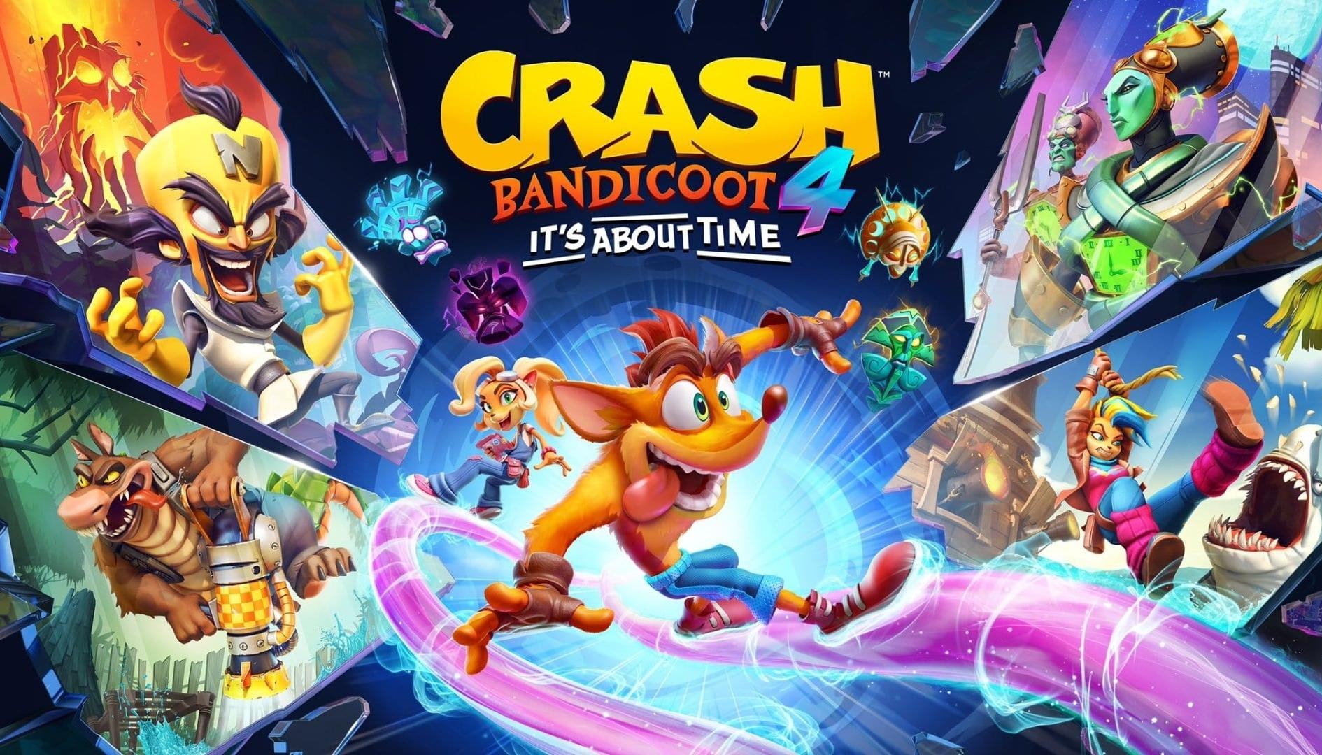 Crash 4: ufficiale! è in arrivo su PC, PS5, Xbox Series X e Switch