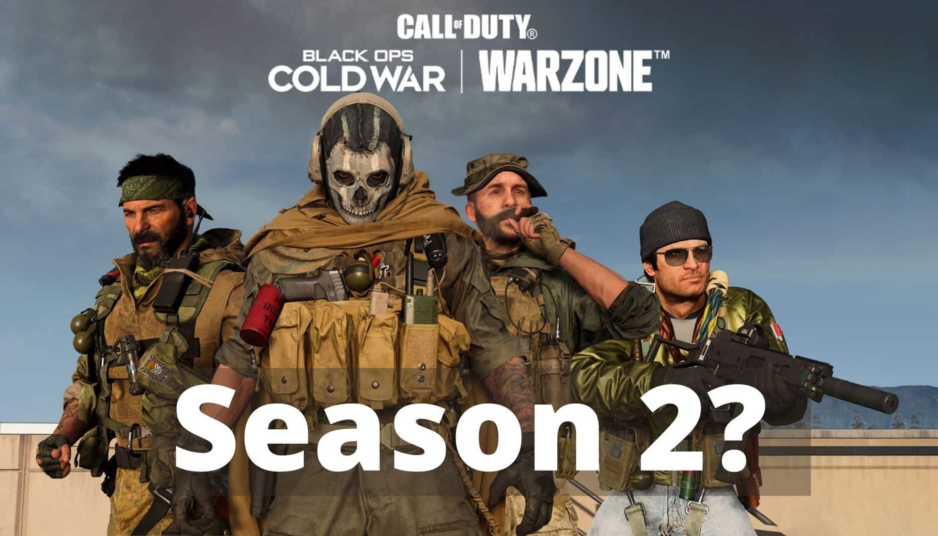Call of Duty Warzone Stagione 2: annunciata la data di inizio