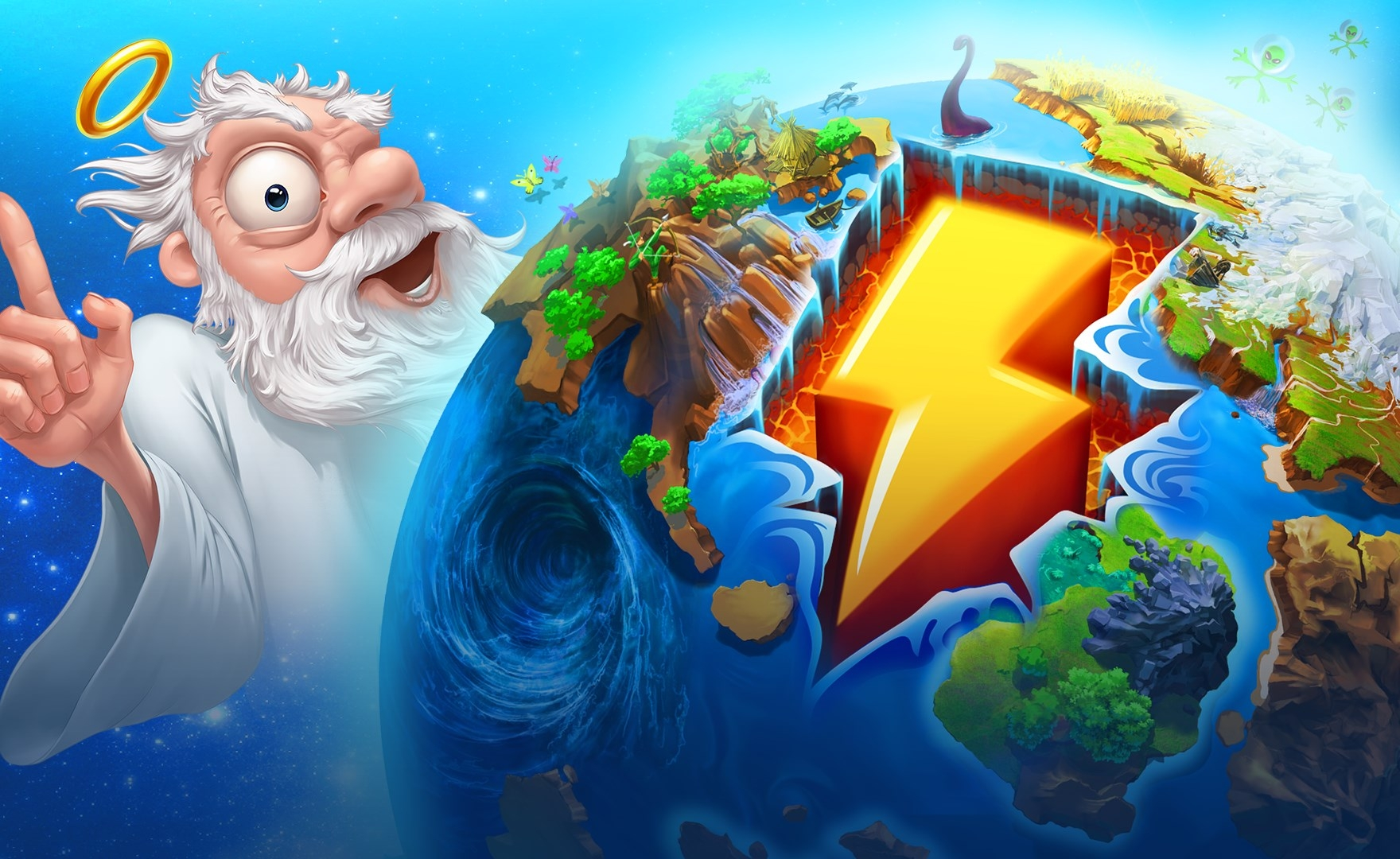 Giochi gratis PC: in regalo un simpatico god game