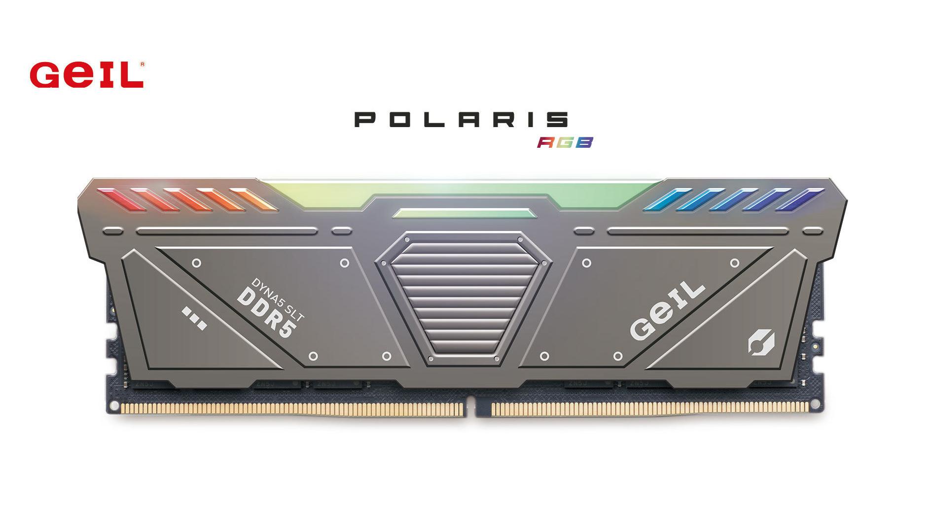 GeIL aggiorna la sua line up Polaris RGB con nuove memorie DDR5