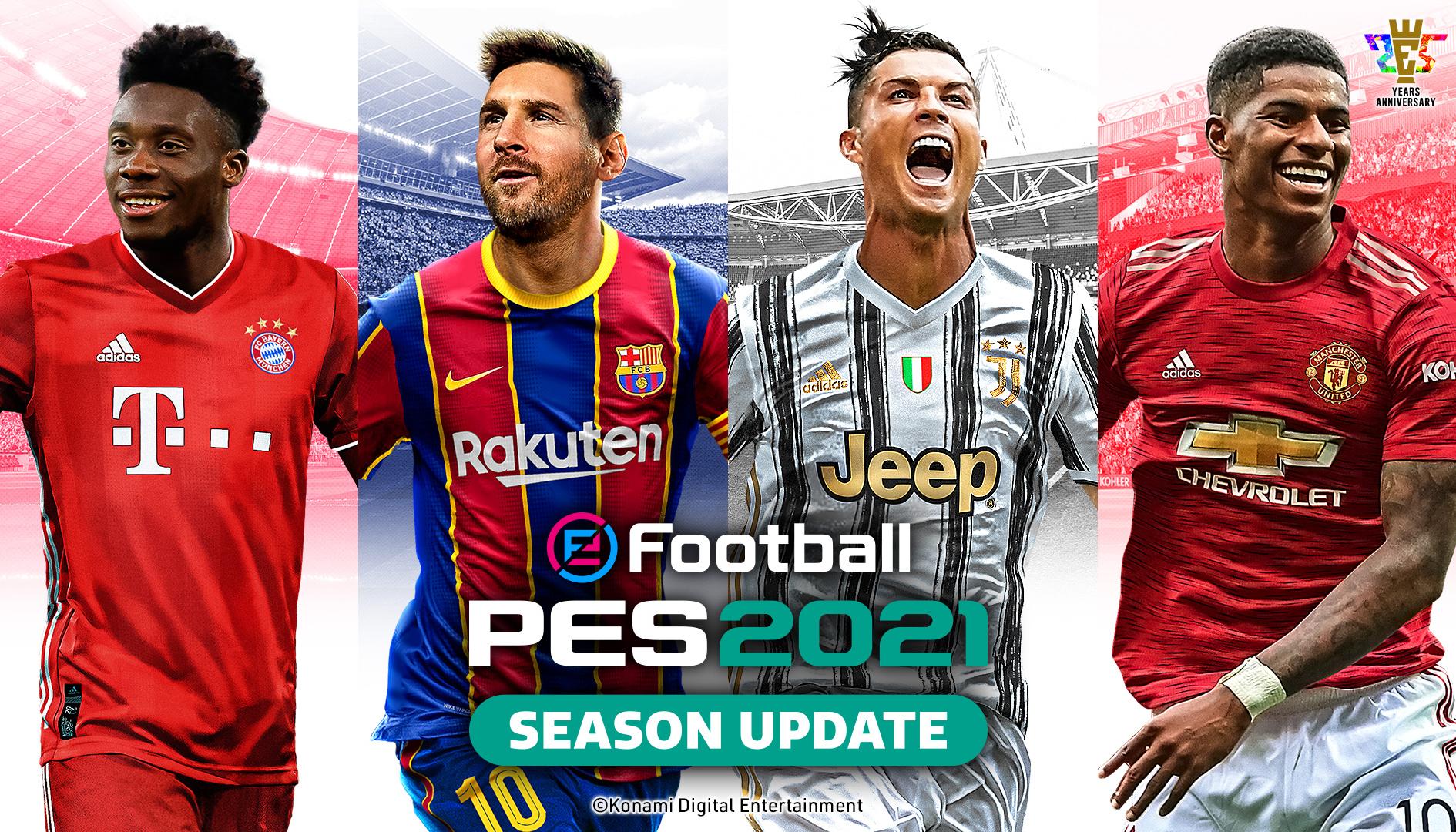 eFootball PES: Konami annuncia partnership esclusiva con una squadra di Serie A