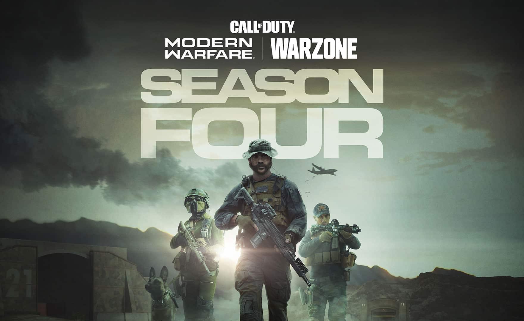Call of Duty Warzone: trailer e data di uscita della Stagione 4