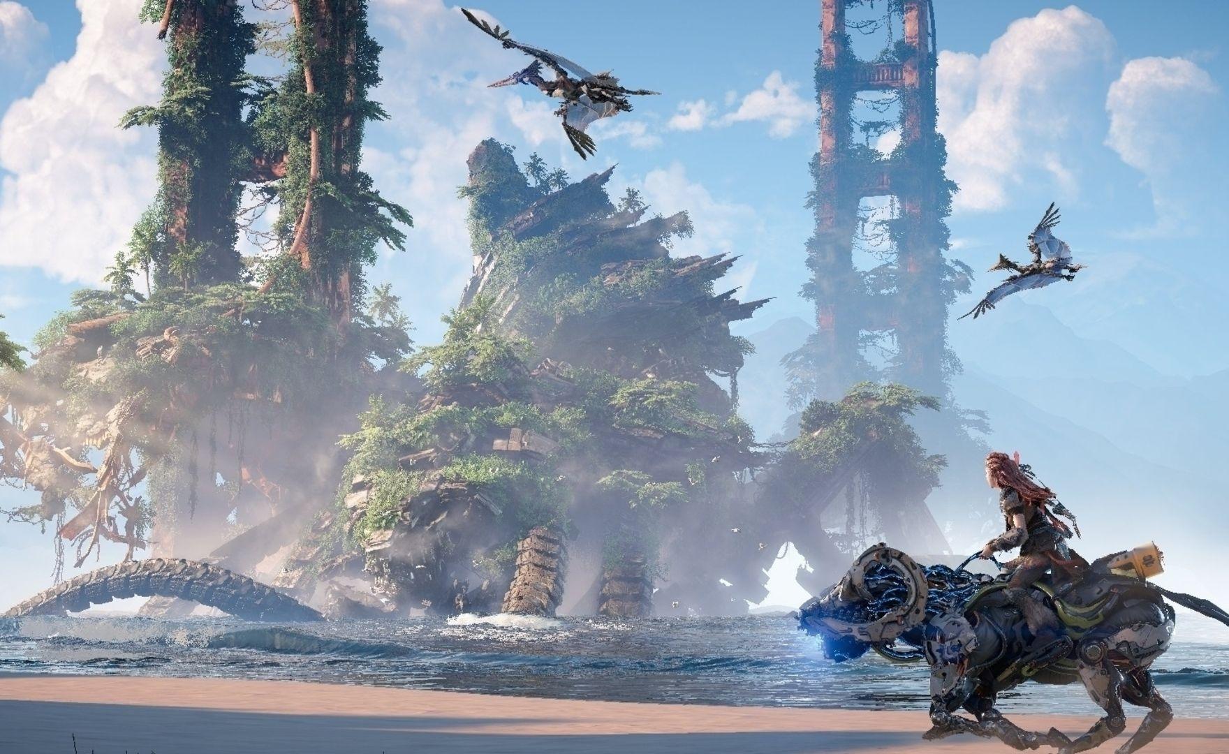 Horizon Forbidden West, è così che si vende la next-gen.