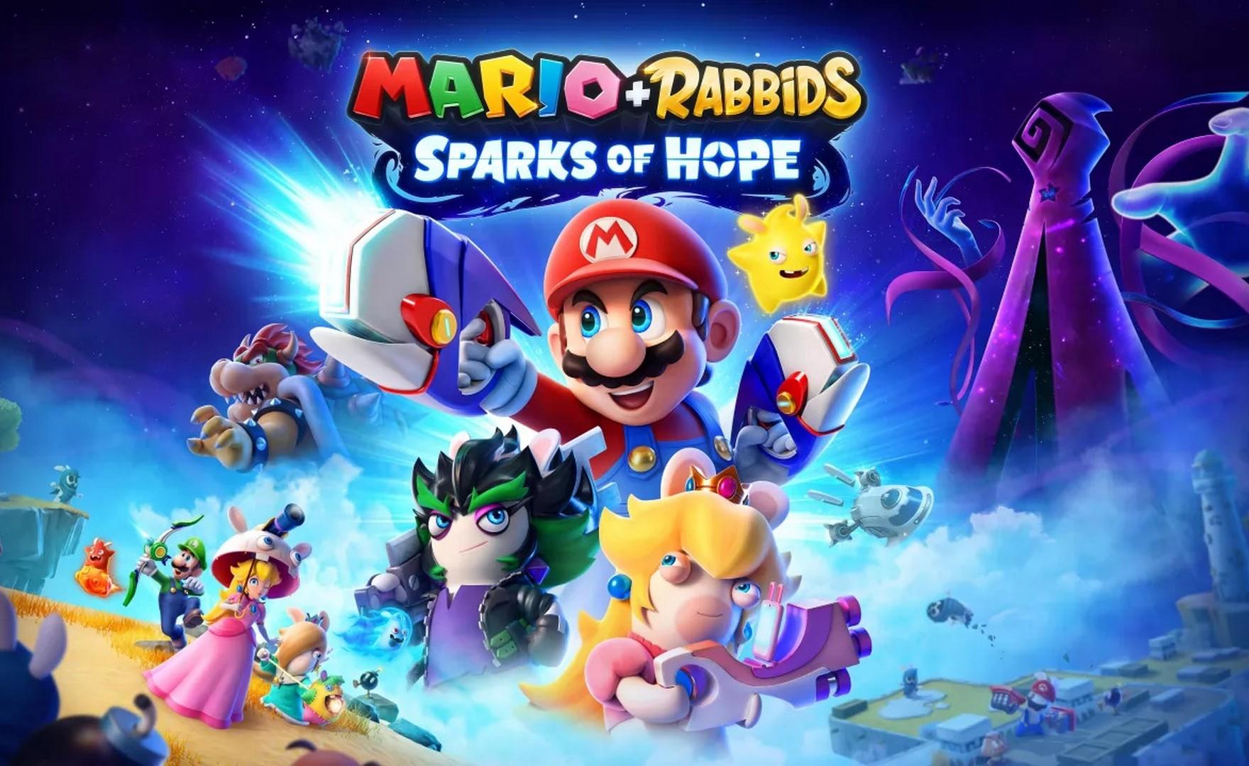 Mario + Rabbids Sparks of Hope, si mostra in un coloratissimo trailer