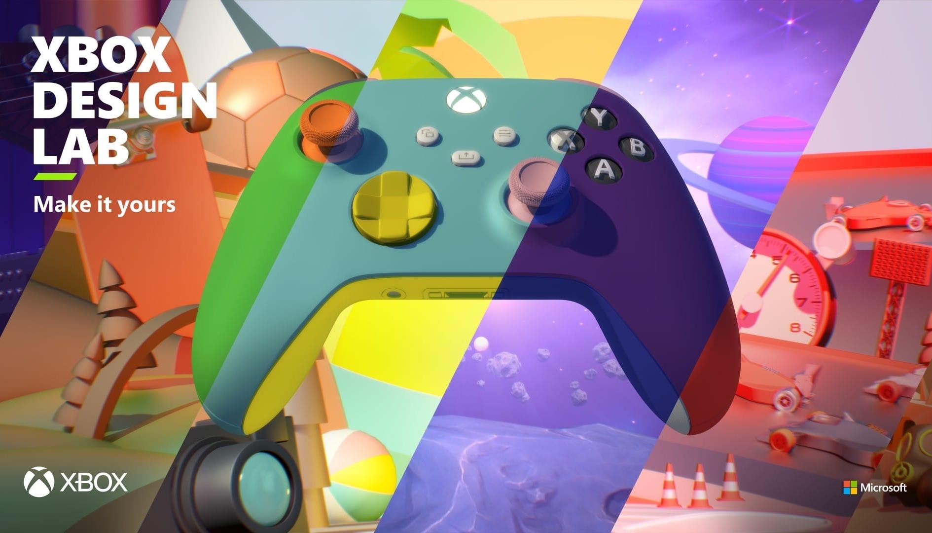 Xbox Design Lab è tornato! Milioni di personalizzazioni per i pad Series X|S