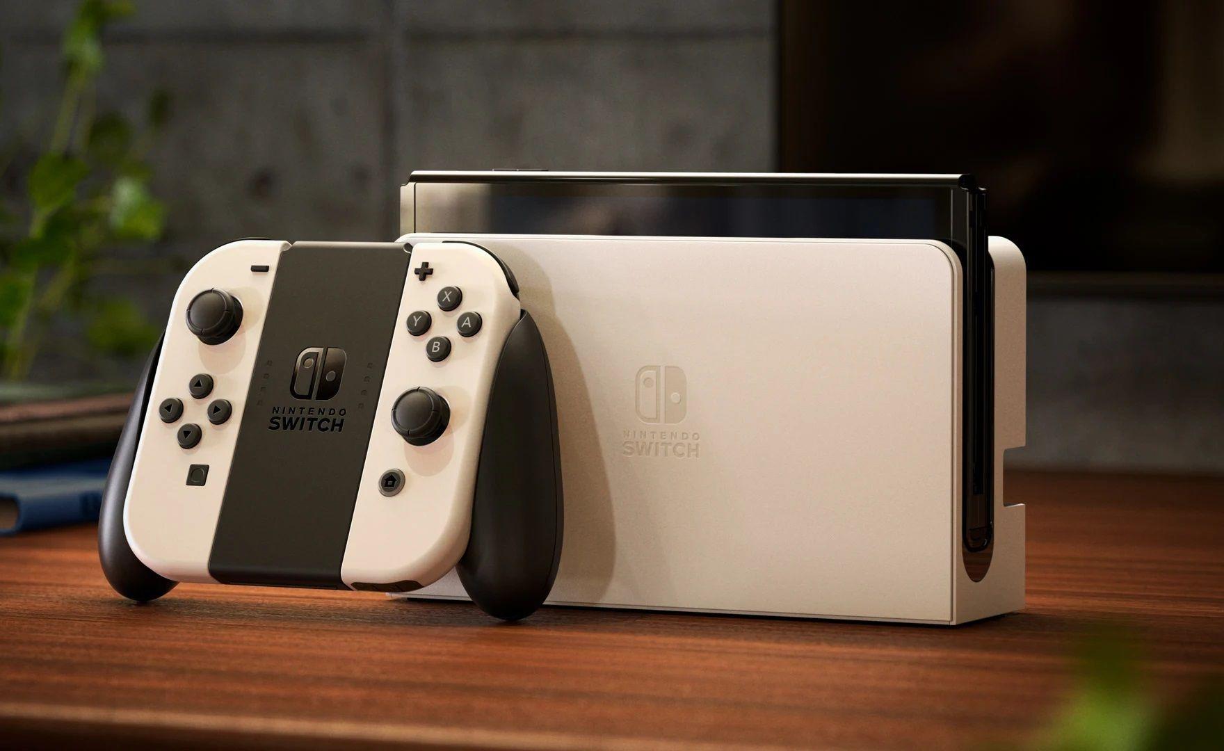 Nintendo Switch OLED, sorpresa: il dock non è esclusiva
