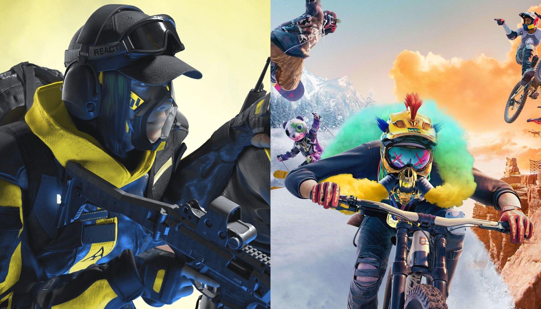 Riders Republic e Rainbow Six Extraction, i due titoli vengono rinviati