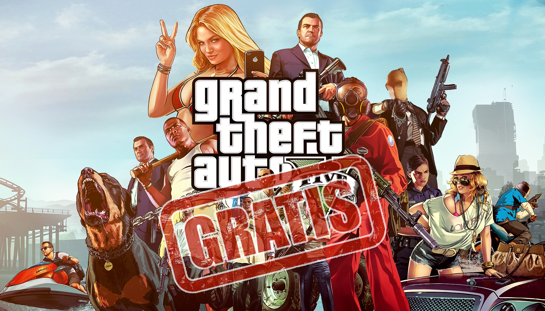 GTA V gratis ha spinto Epic Games, milioni di account gratis per riscattarlo