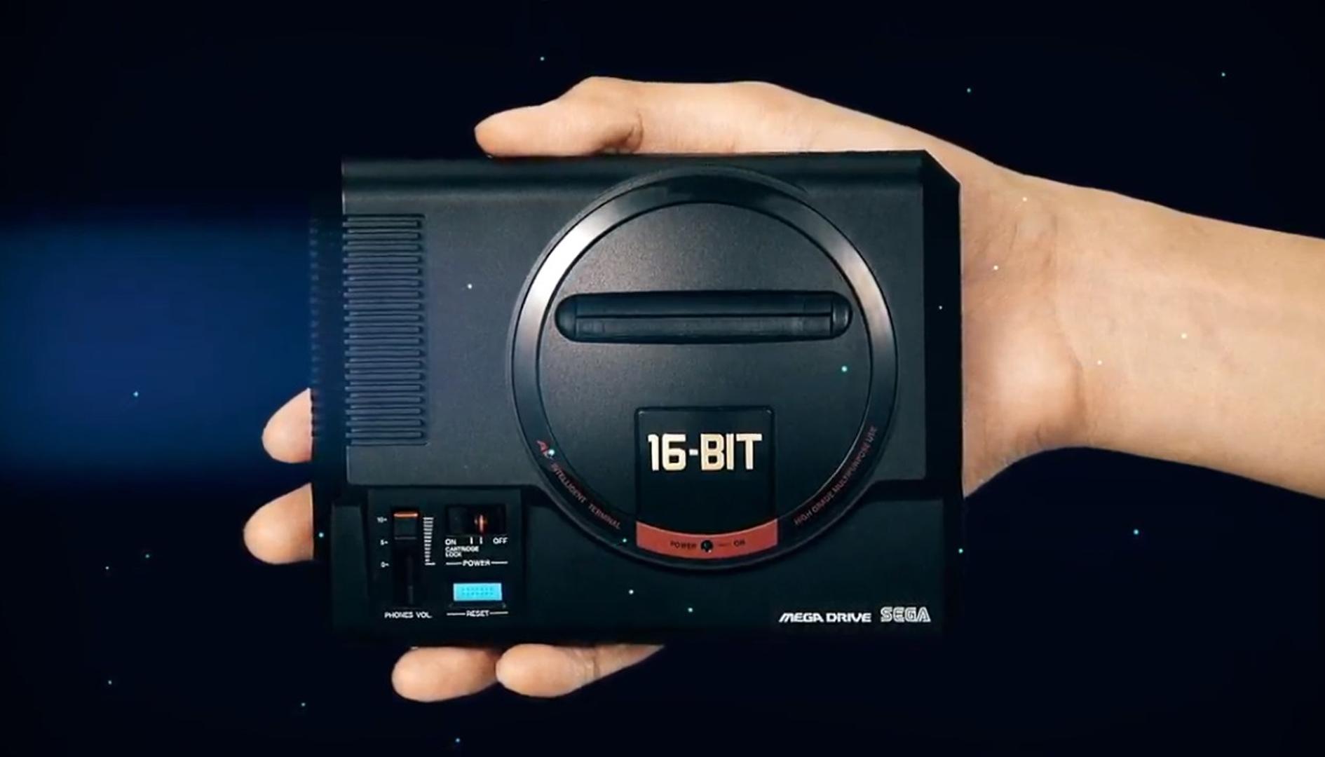 SEGA Mega Drive Mini nuovi giochi Campcom in arrivo