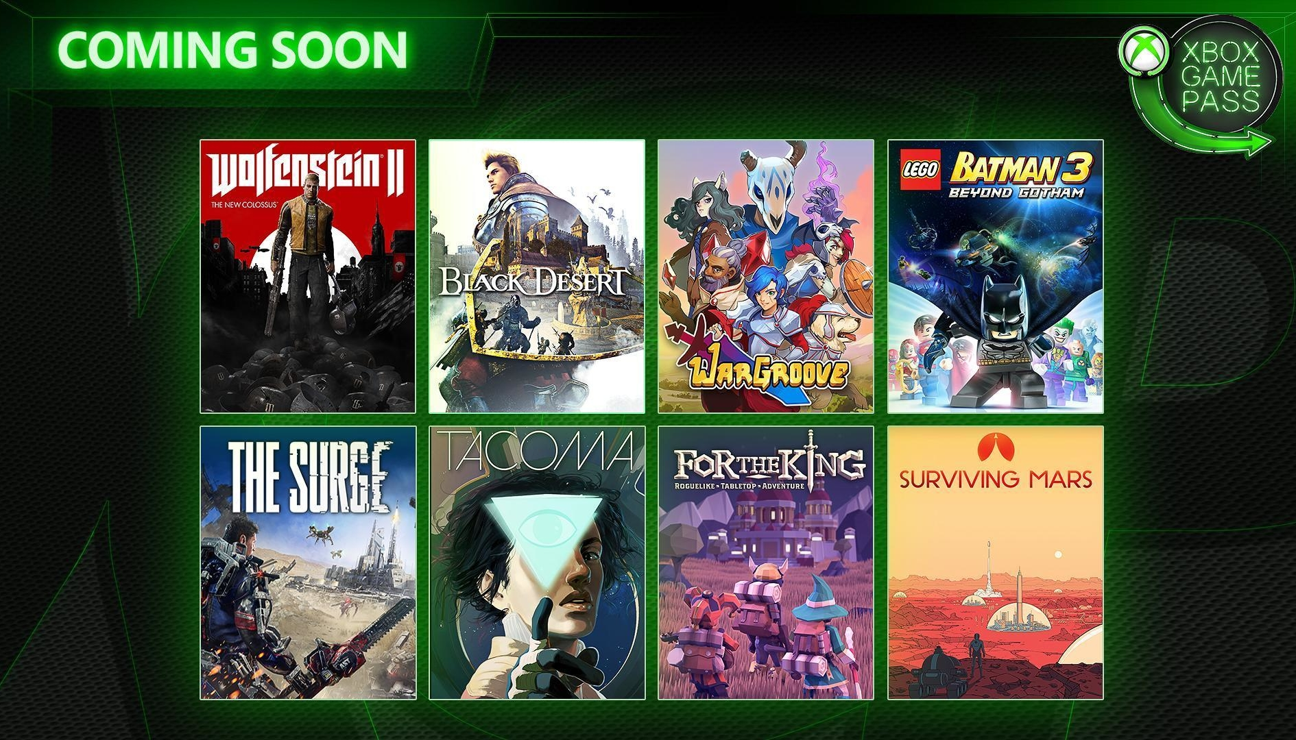 Xbox Game Pass Maggio 2019 aggiornamento catalogo