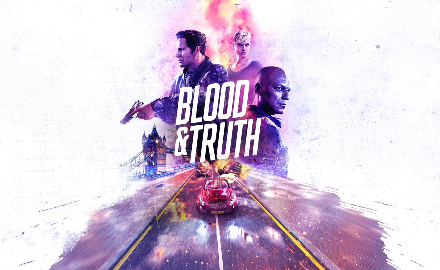 Blood & Truth nel trailer di lancio