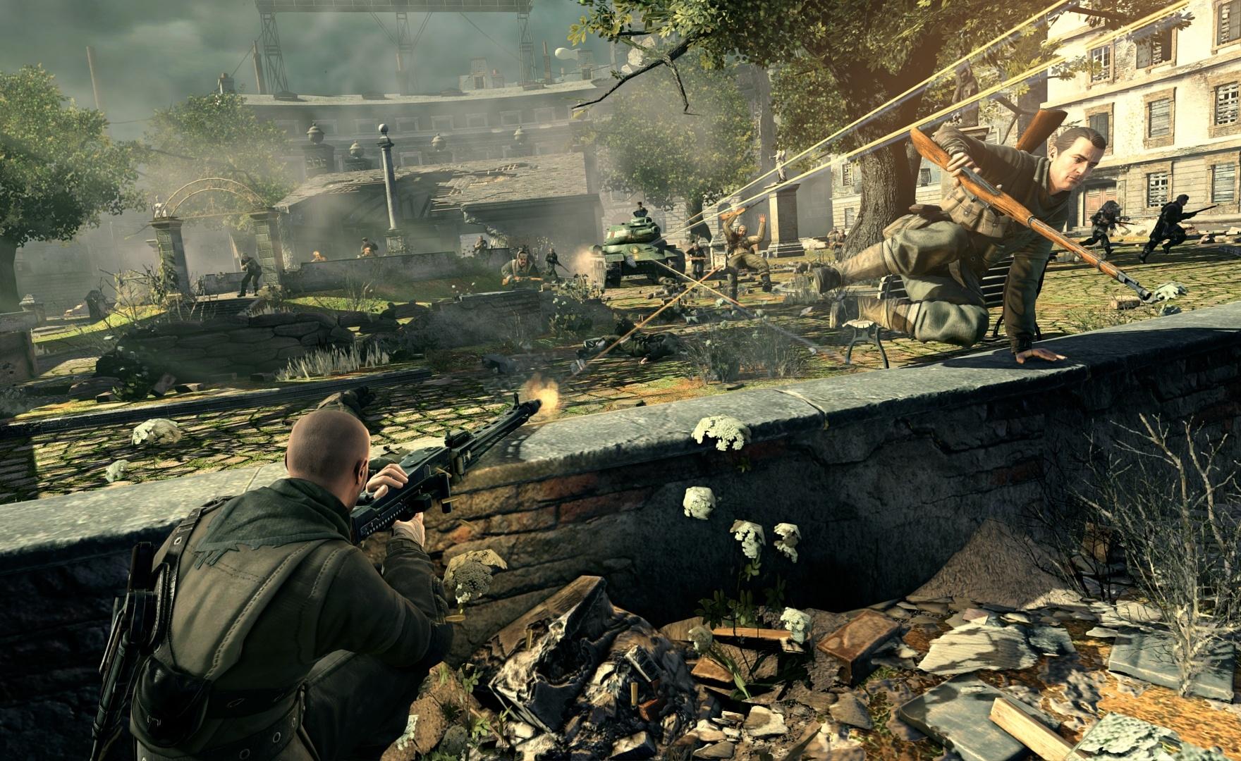 Sniper Elite V2: versione Switch in un nuovo video gameplay