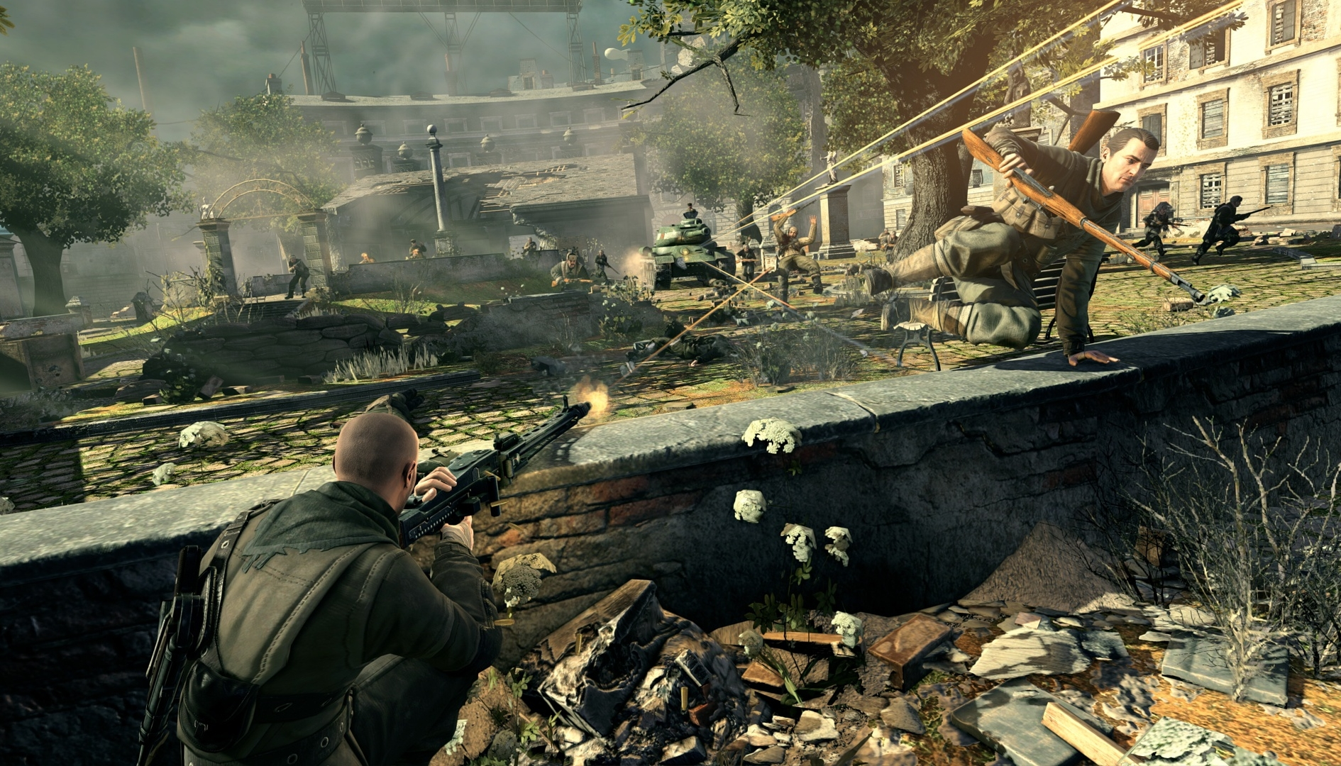 Sniper Elite V2: versione Switch in un nuovo video gameplay