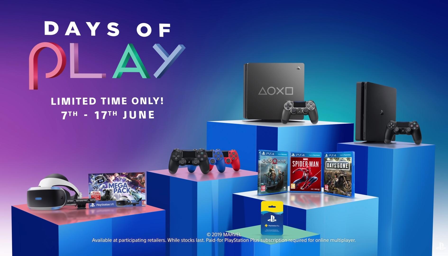 È il momento dei Days of Play 2019: tante offerte per celebrare i videogiocatori