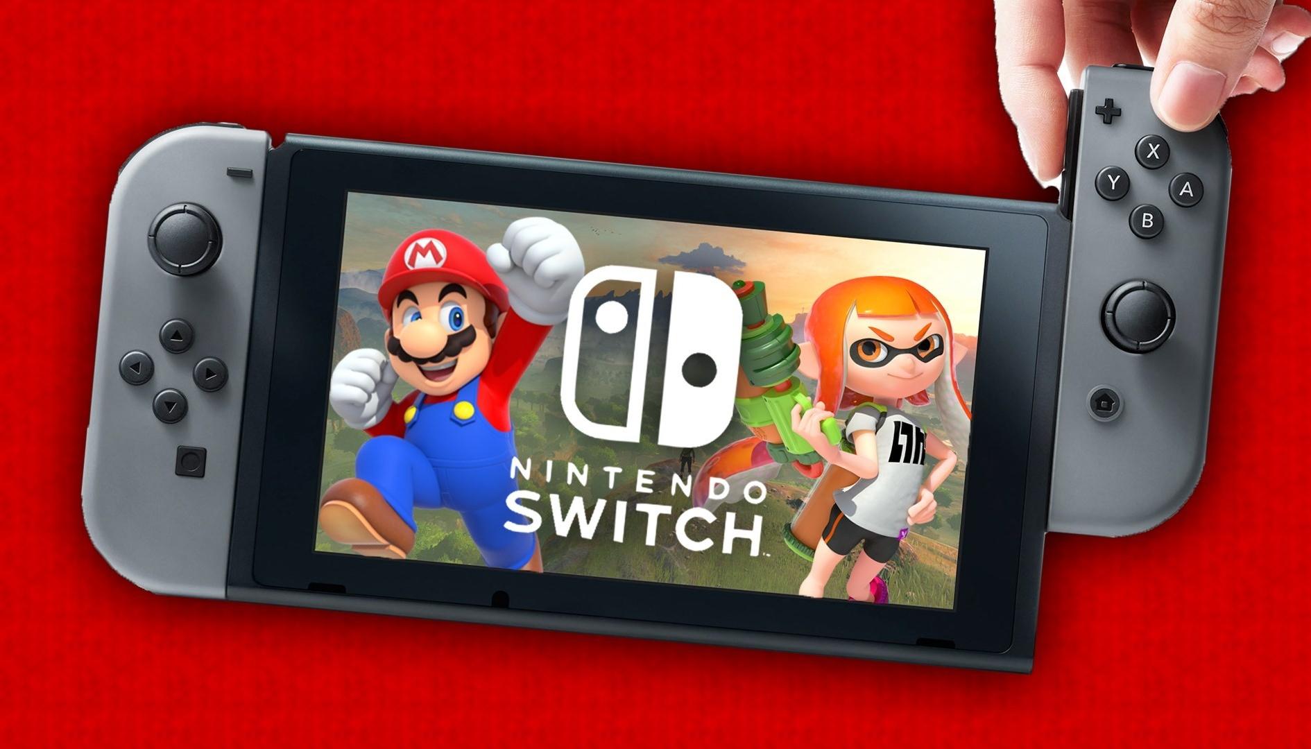 Nintendo Switch: svelate le dimensioni di molti titoli in uscita
