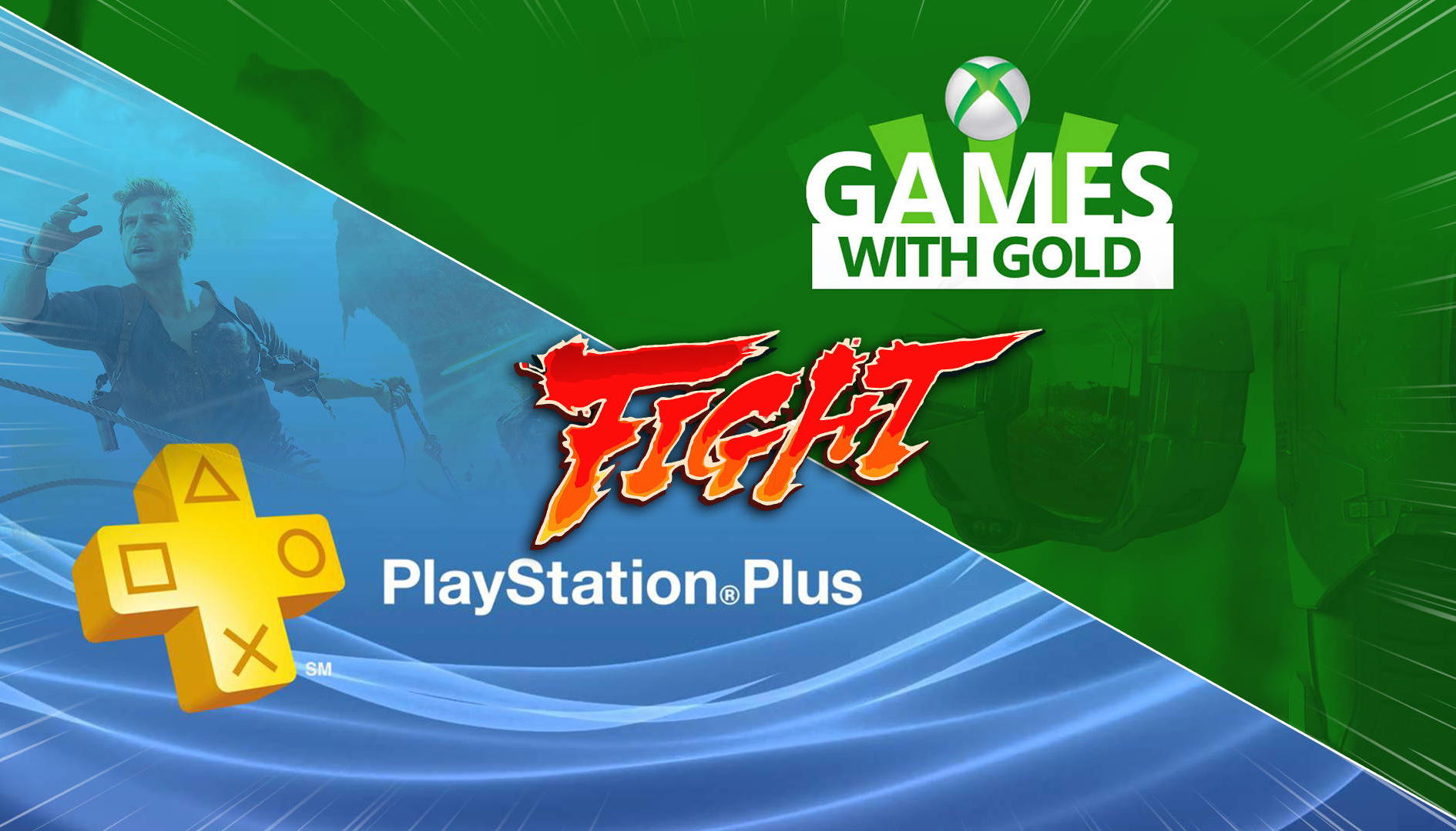 PlayStation Plus vs Games With Gold giugno 2019