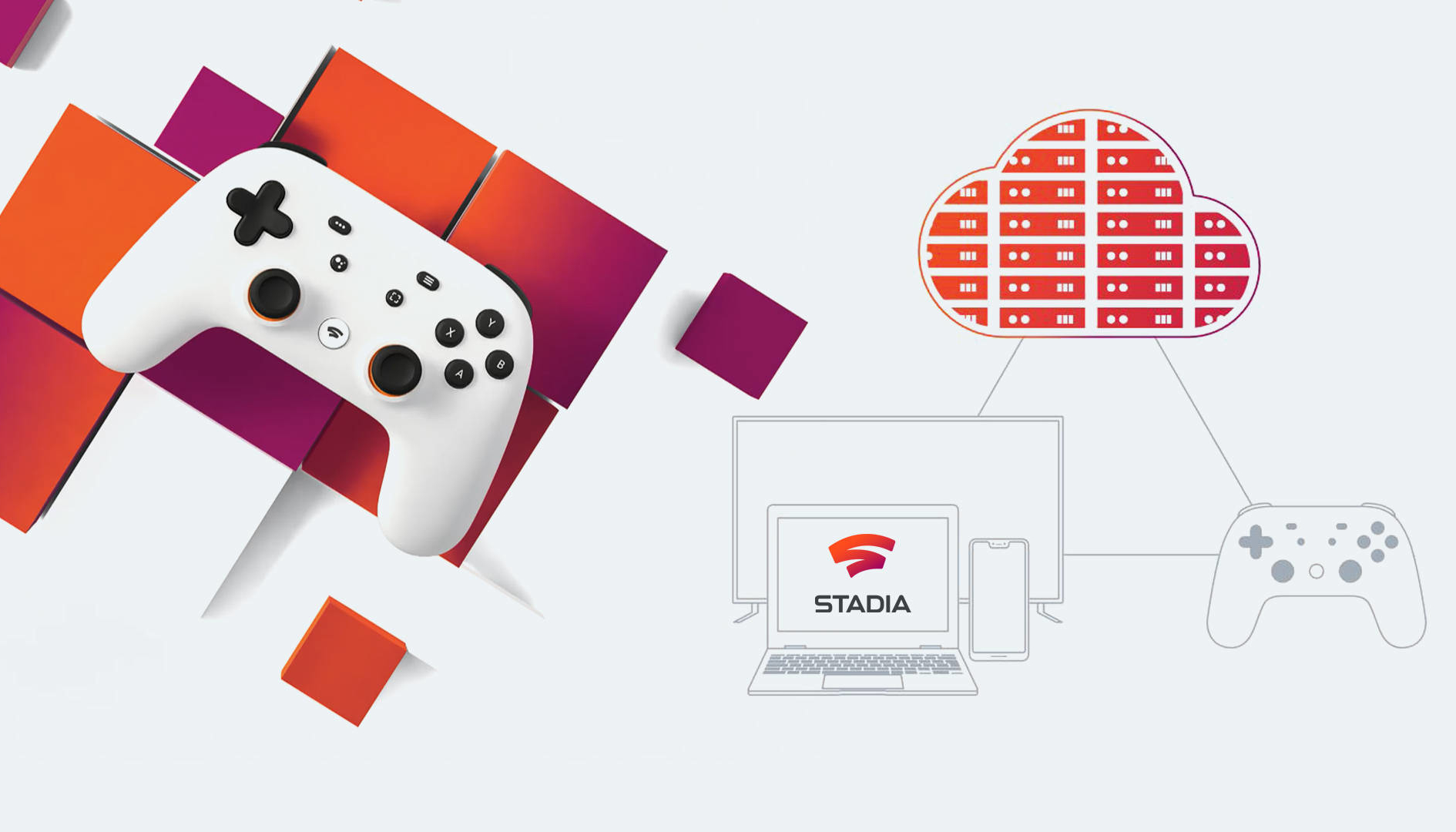"Google Stadia, Gamescom 2019: ecco l'interfaccia visibile da una foto ""rubata"""