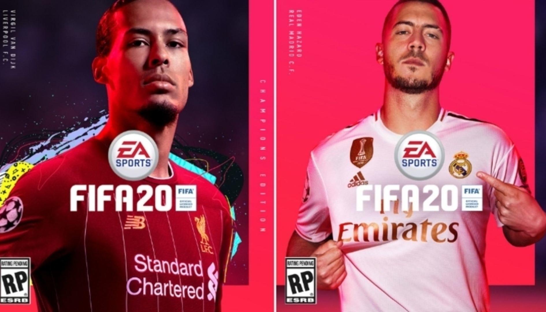 FIFA 20: ecco i campioni delle copertine ufficiali