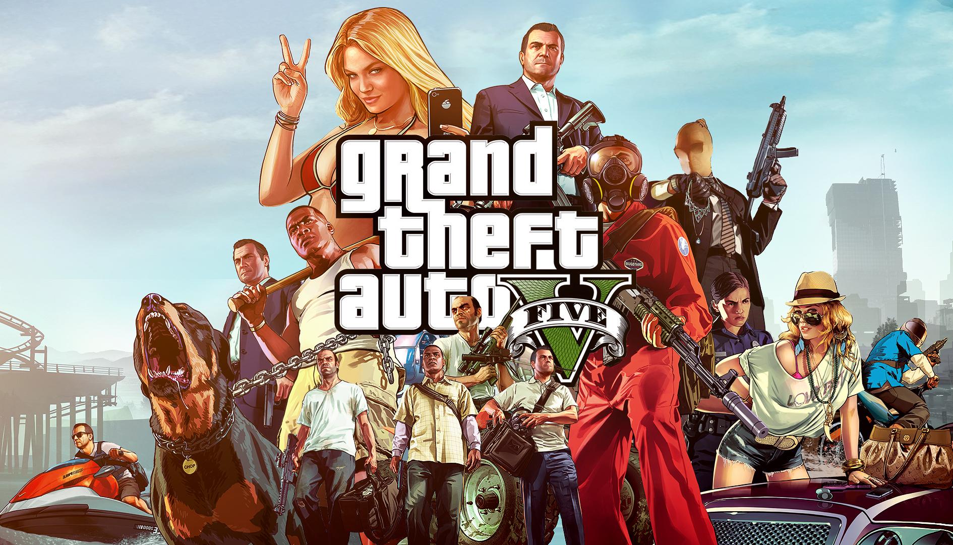 GTA 5: un DLC single player a tema zombie era nei piani di Rockstar
