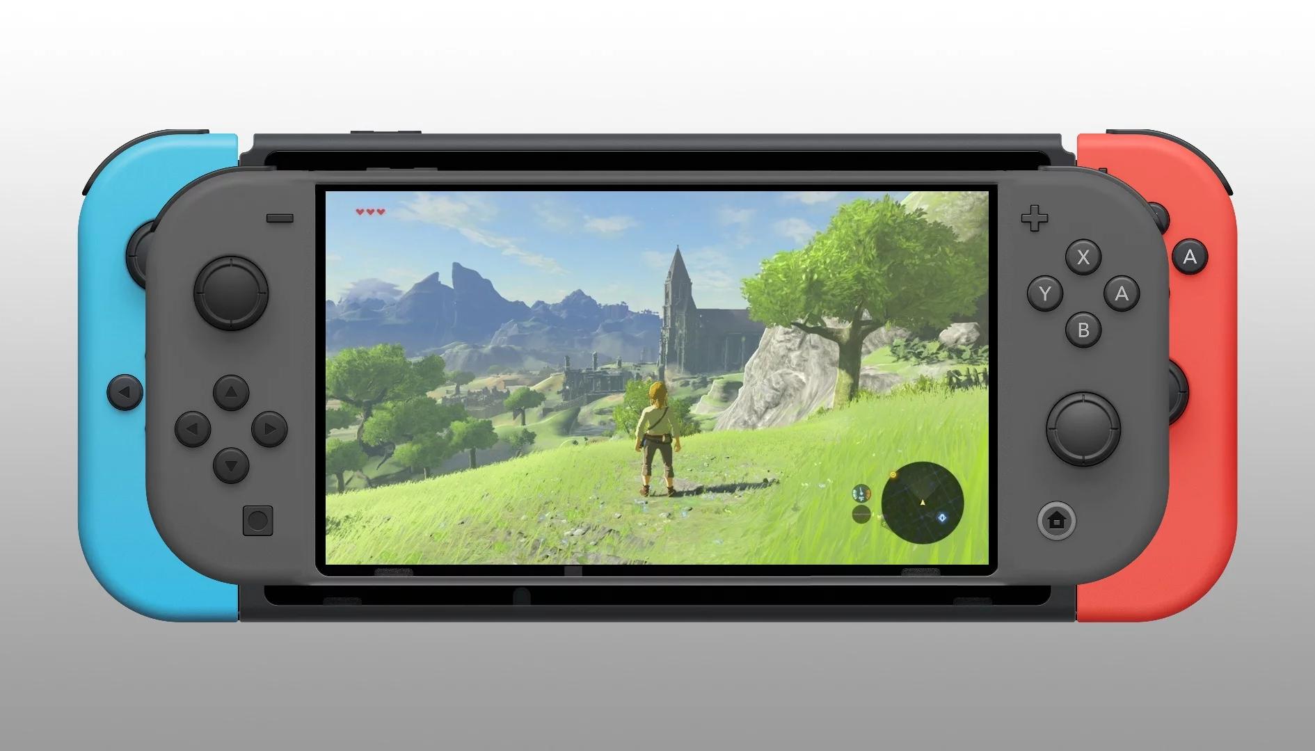 Nintendo Switch Mini: appare la foto di una cover della nuova console