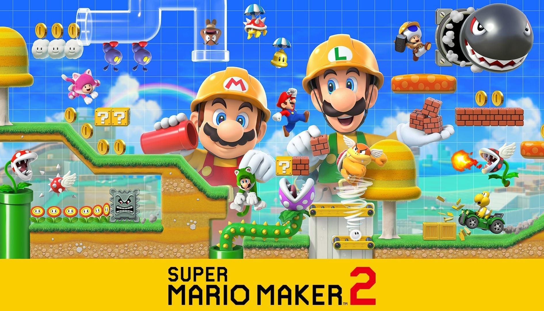 Super Mario Maker 2: i giocatori hanno già creato più di 5 milioni di livelli
