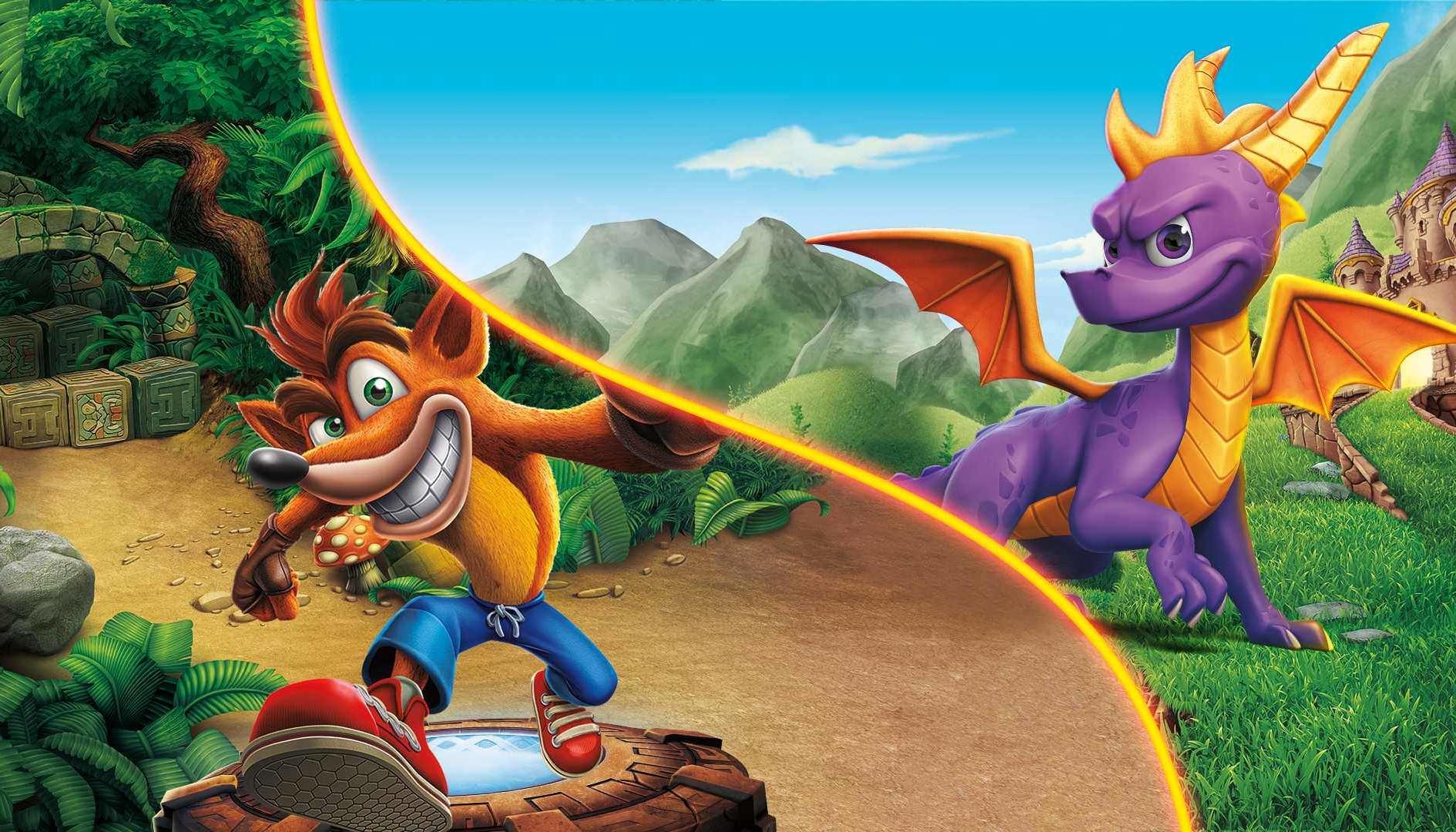 """Crash e Spyro: Activision invita a """"rimanere sintonizzati"""""""
