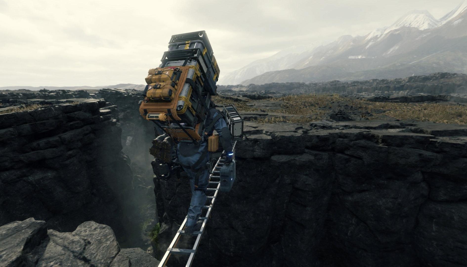 Death Stranding: trailer TGS 2019 svela completamente il gameplay del gioco
