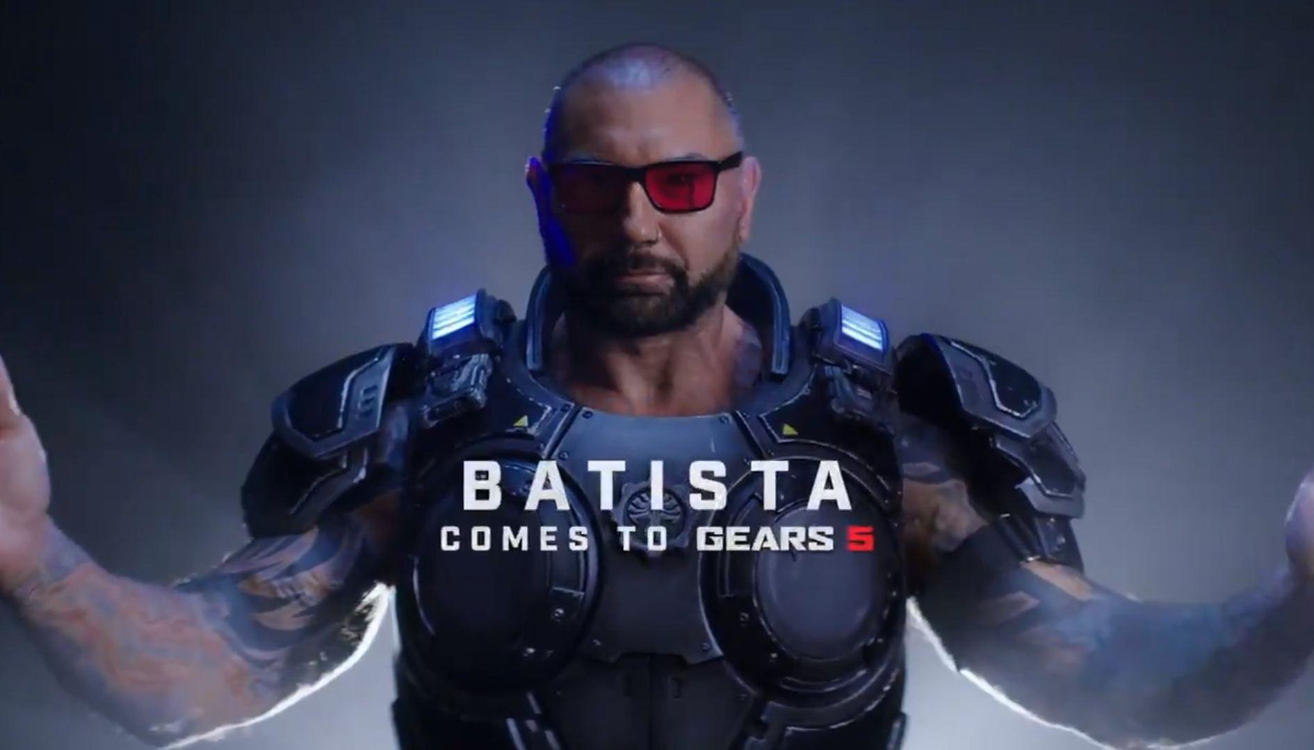 Gears 5: Dave Bautista sarà un personaggio giocabile nel multiplayer