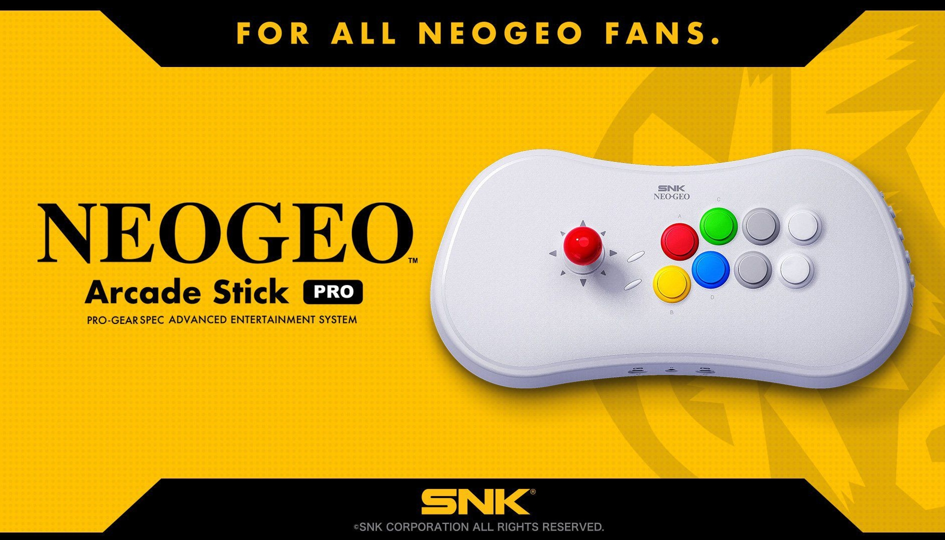 NEOGEO Arcade Stick Pro: svelati i giochi e le caratteristiche uniche