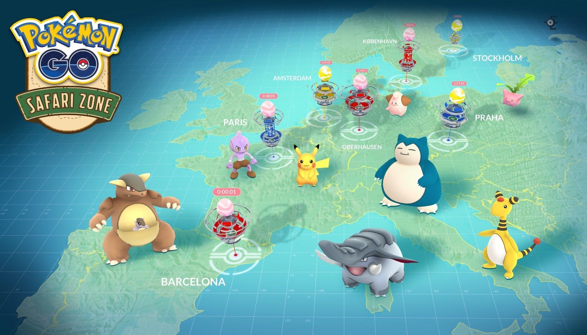 Pokémon GO: su un'isola non è possibile giocare al titolo