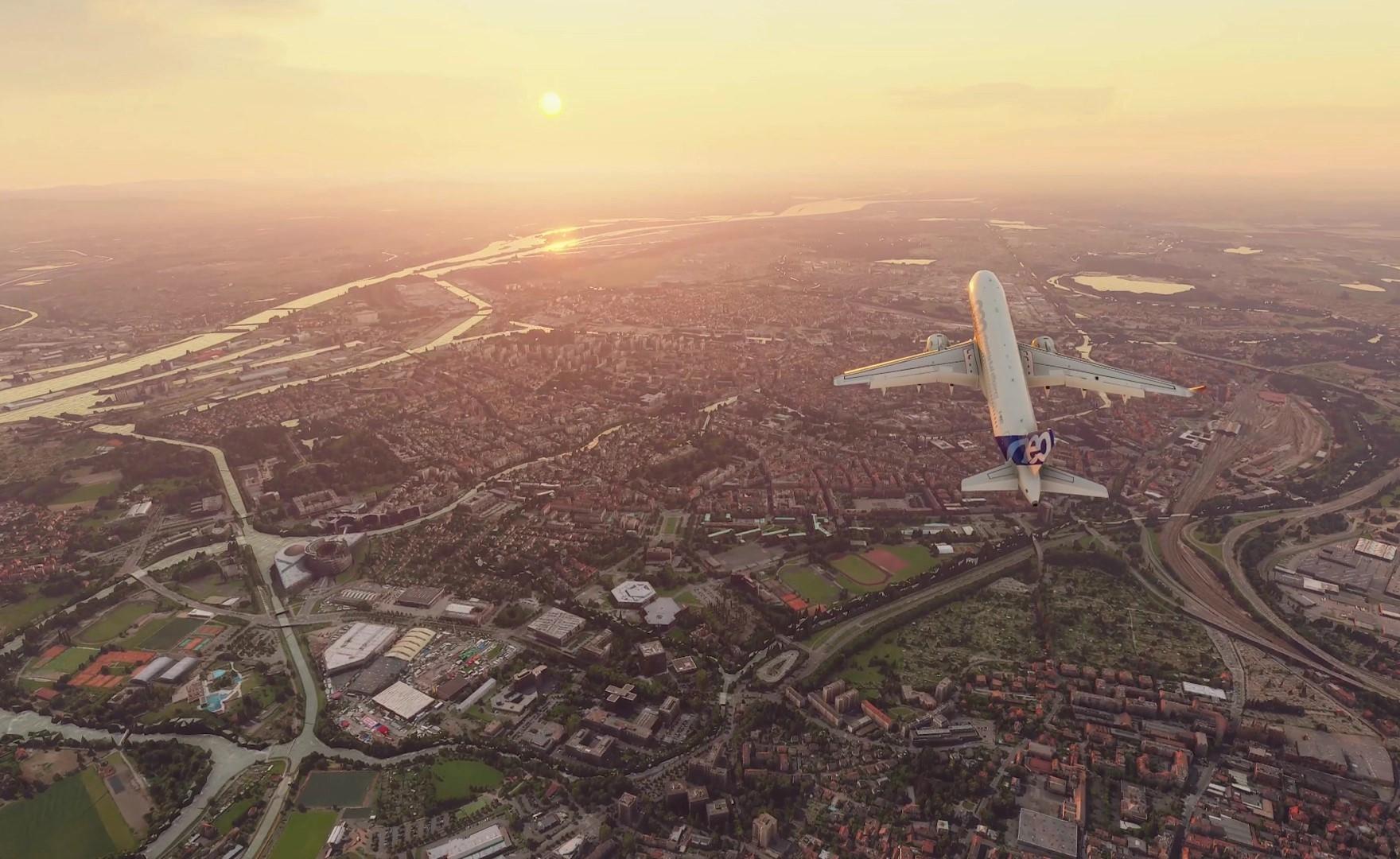 Microsoft Flight Simulator, il team ha riprodotto in maniera realistica più di 37 mila aeroporti
