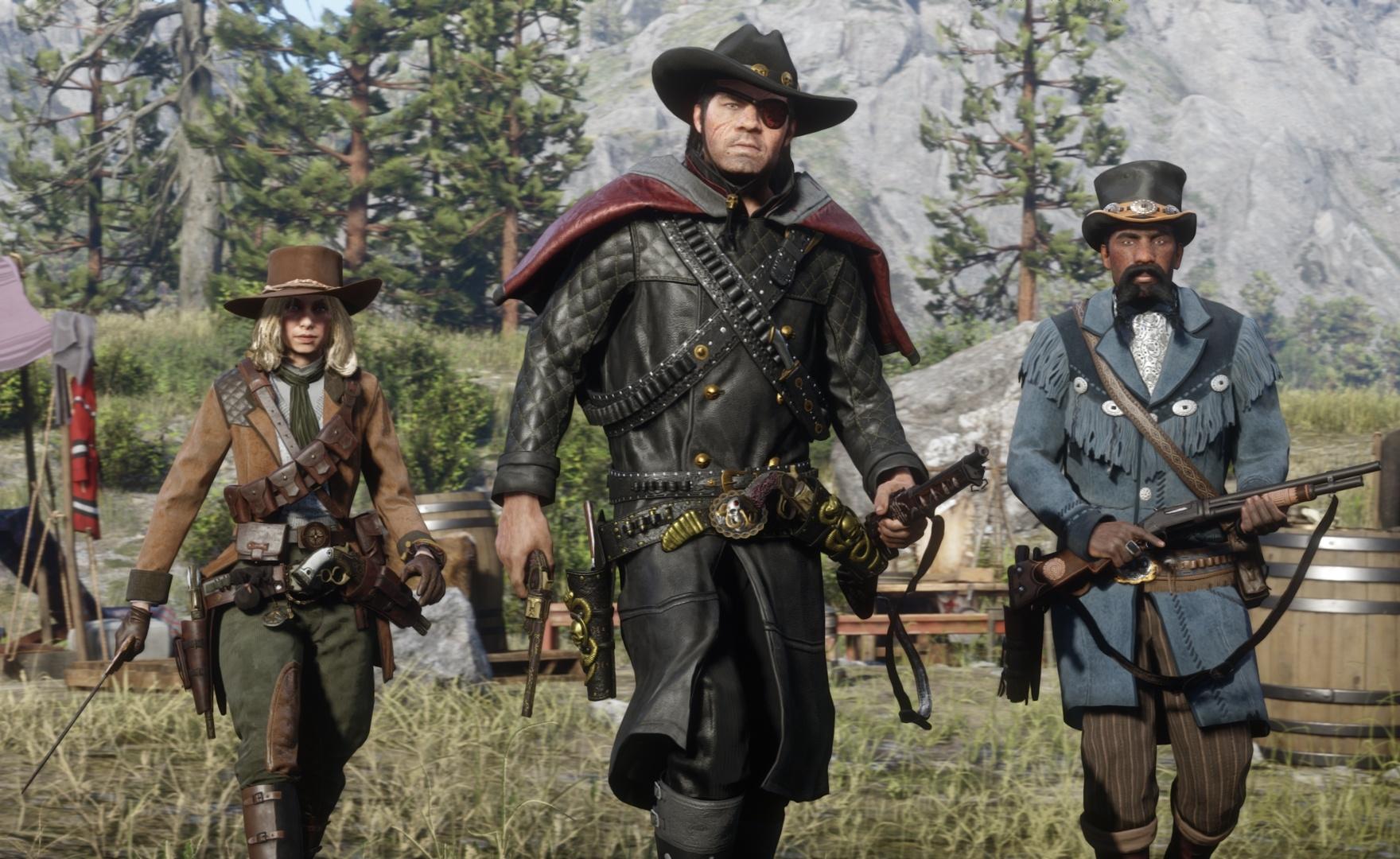 Red Dead Redemption 2: nuovi oggetti e taglie online a tema Halloween
