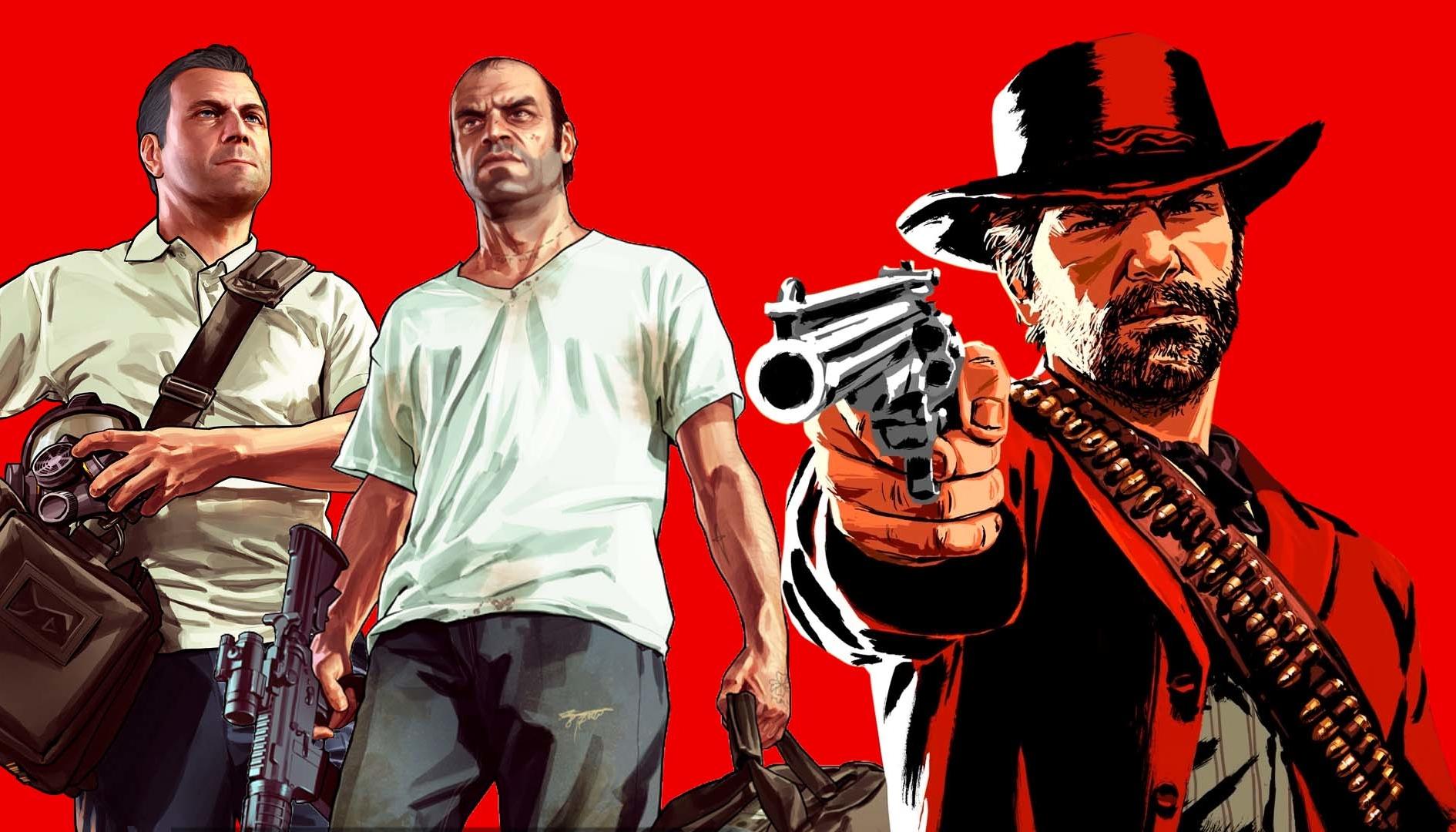 GTA 5 e Red Dead Redemption 2: le modalità online saranno supportate a lungo