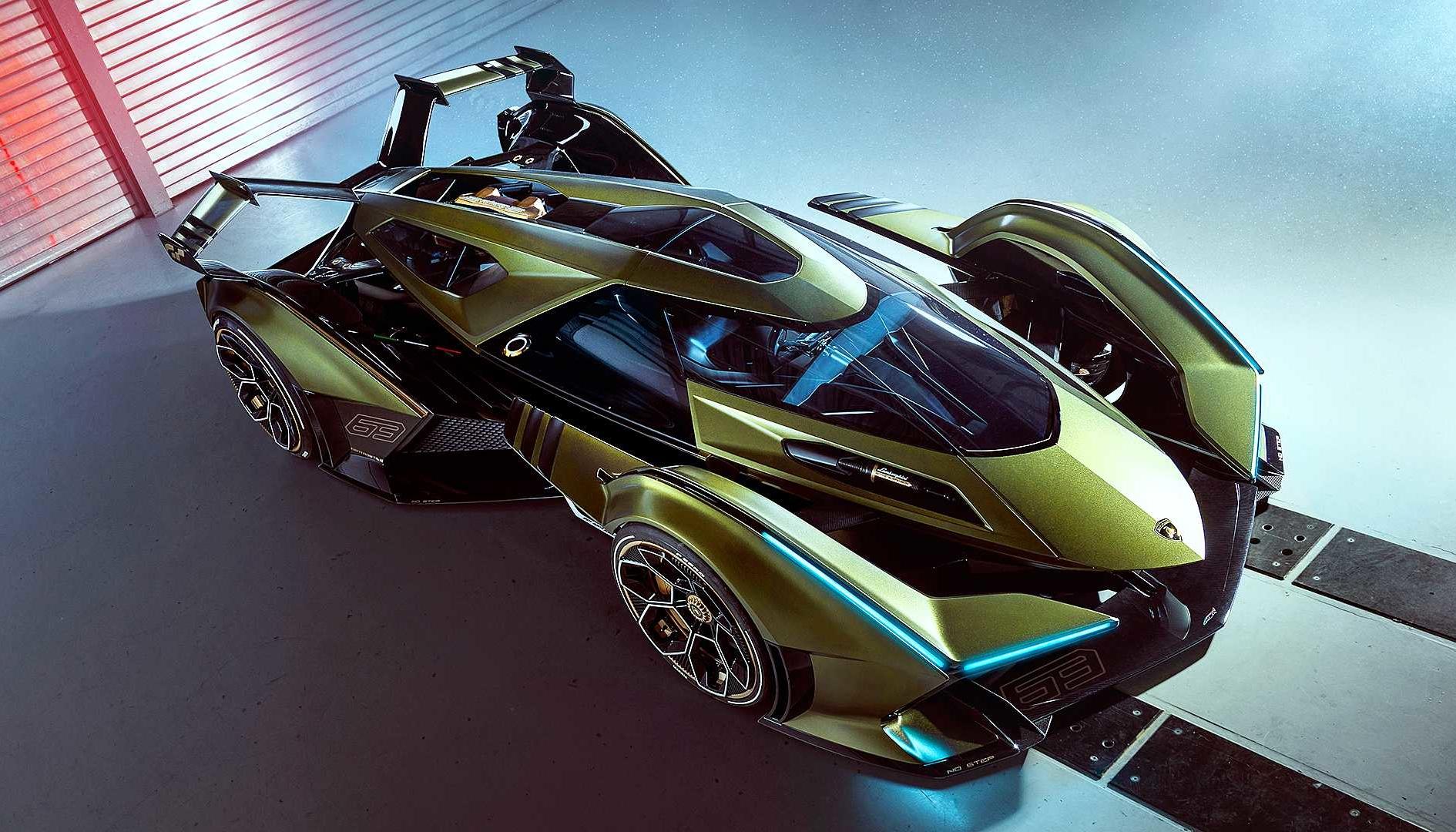 Gran Turismo Sport, La Lamborghini Lambo V12 Vision GT presentata a Monaco