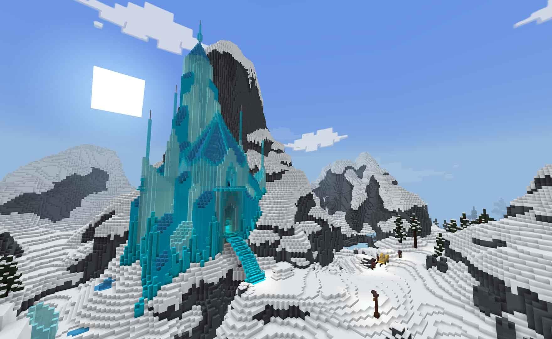 Minecraft sbarca ad Arrendelle: disponibile una collaborazione con Frozen 2