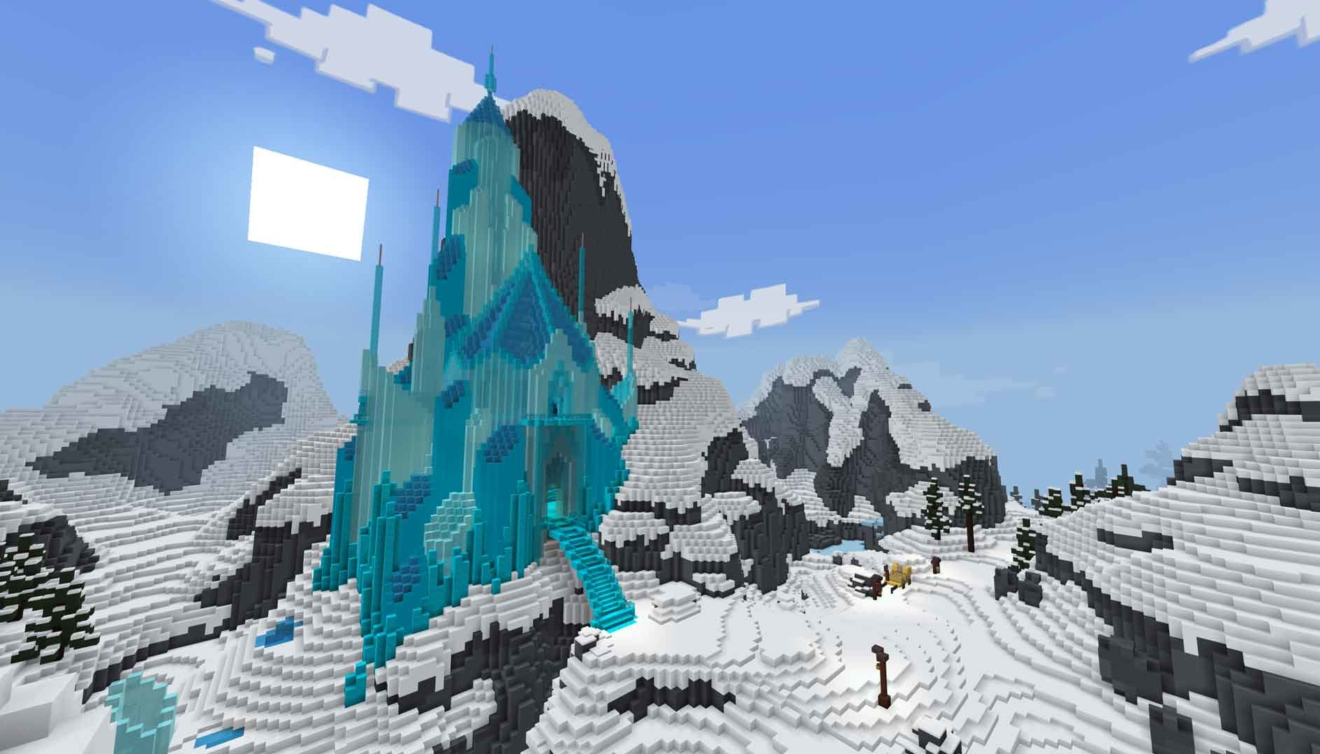 Minecraft sbarca ad Arrendelle: disponibile una collaborazione con Frozen 2