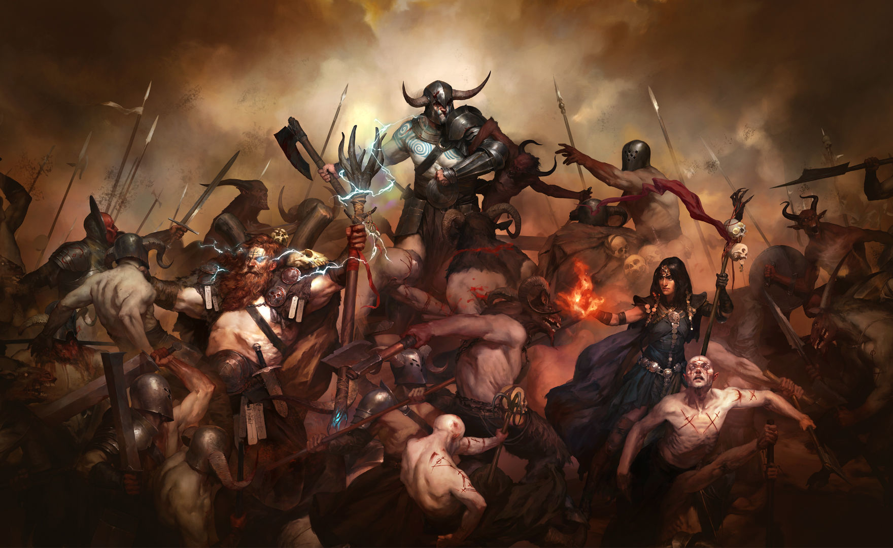 Diablo 4: rumor su nuove classi disponibili al lancio, beta e Diablo 2 Remaster
