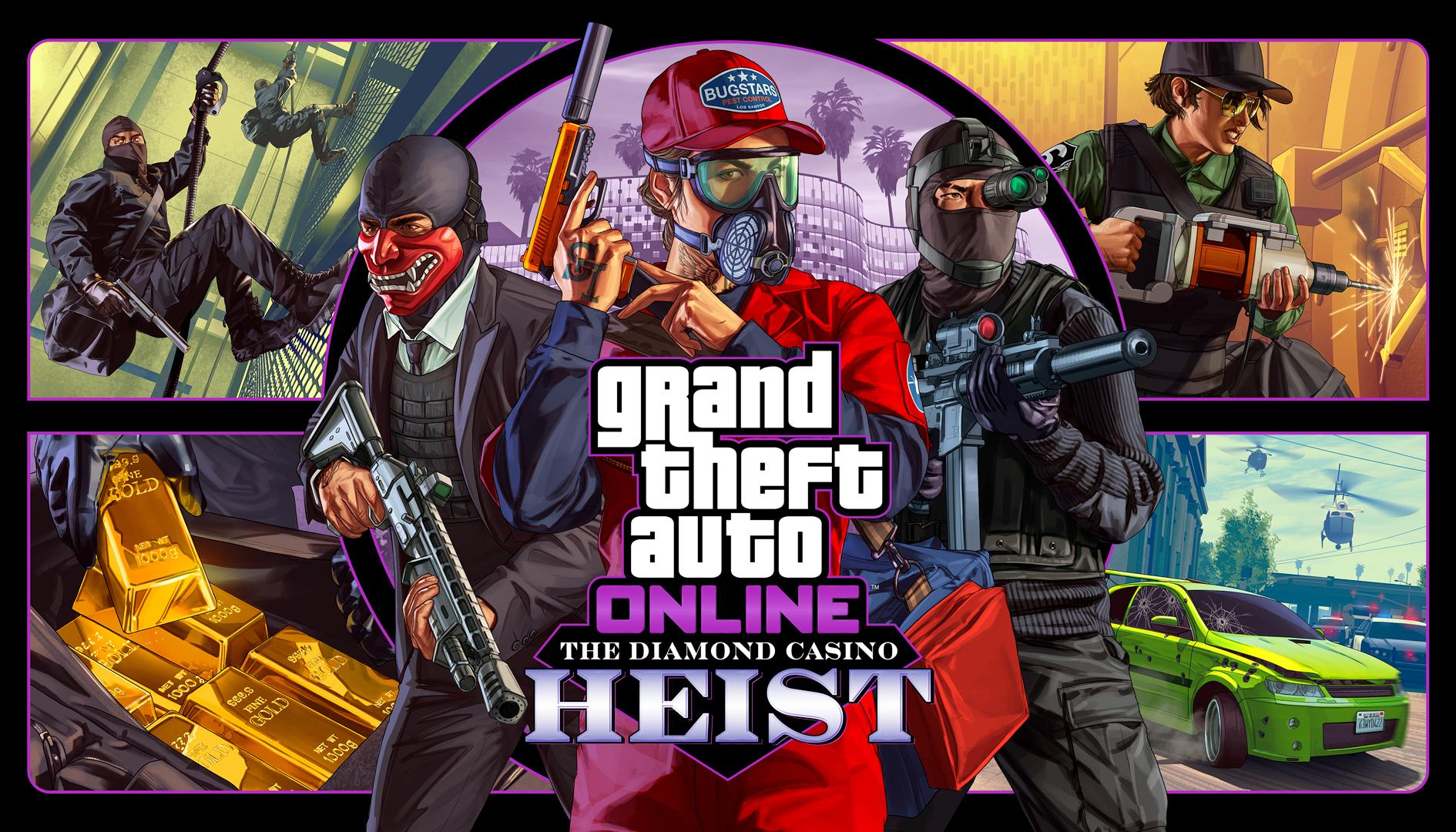 GTA Online – Colpo al Casinò Diamond in arrivo il 12 dicembre