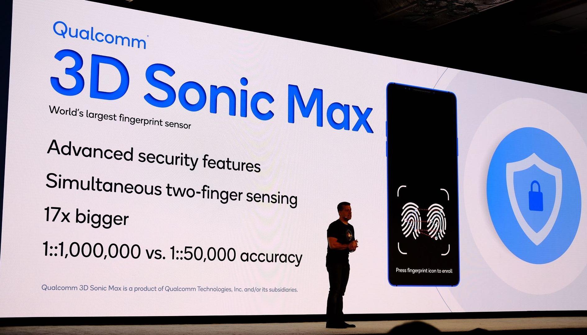 Qualcomm rivoluziona i sensori di impronte digitali per gli smartphone