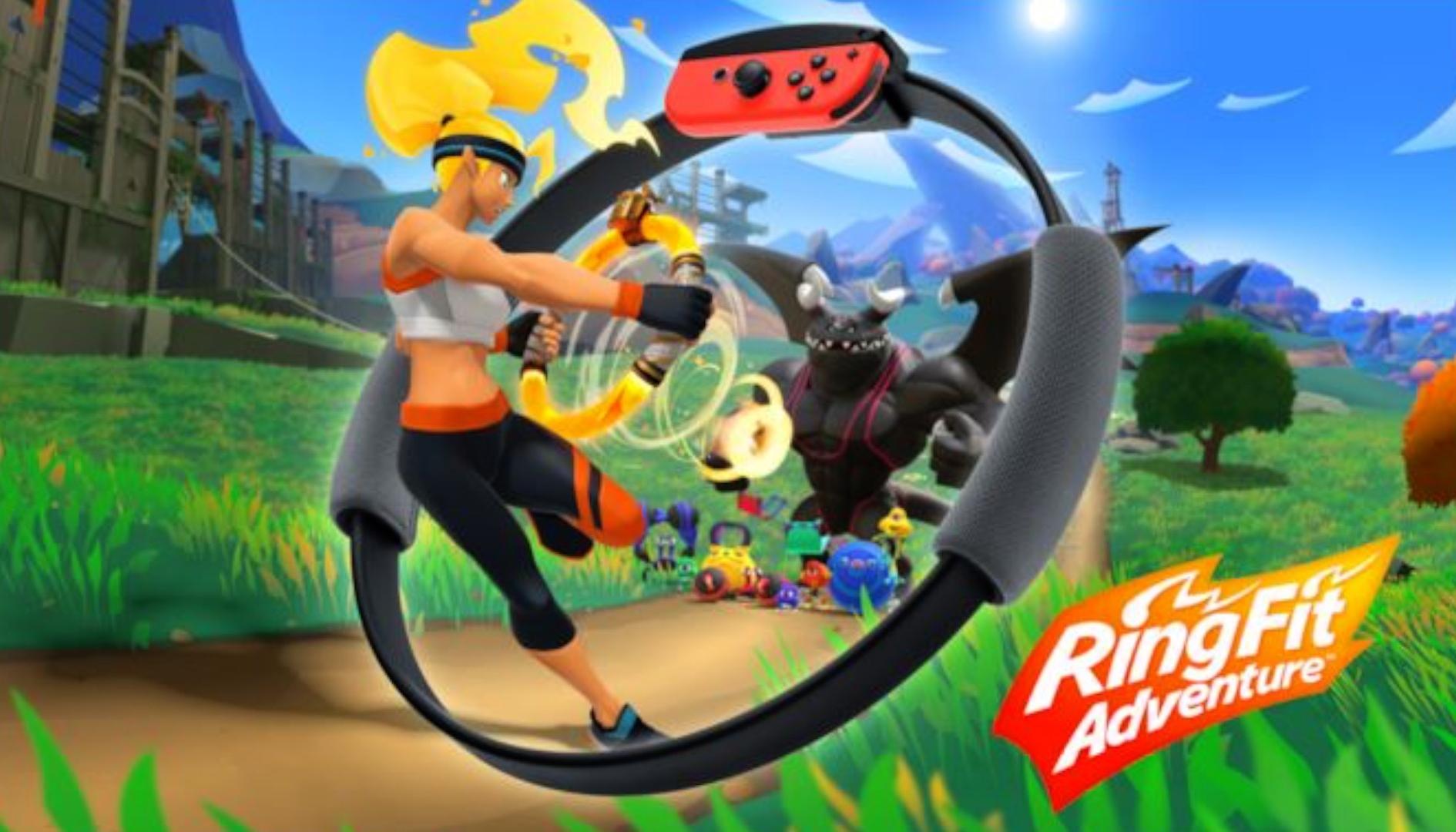 Ring Fit Adventure è stato tra i giochi più venduti a ottobre in Giappone