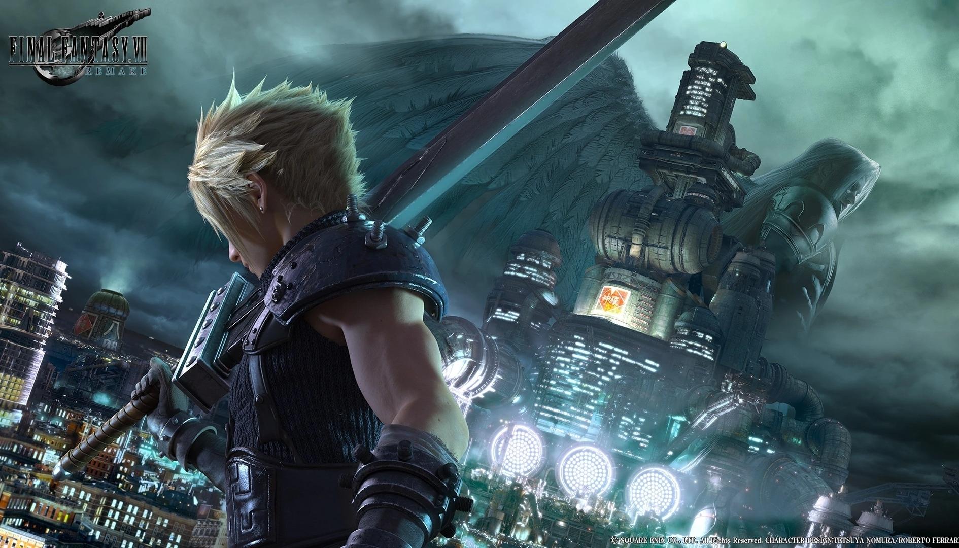 Final Fantasy 7 Remake è esclusiva temporale PS4: ecco fino a quando
