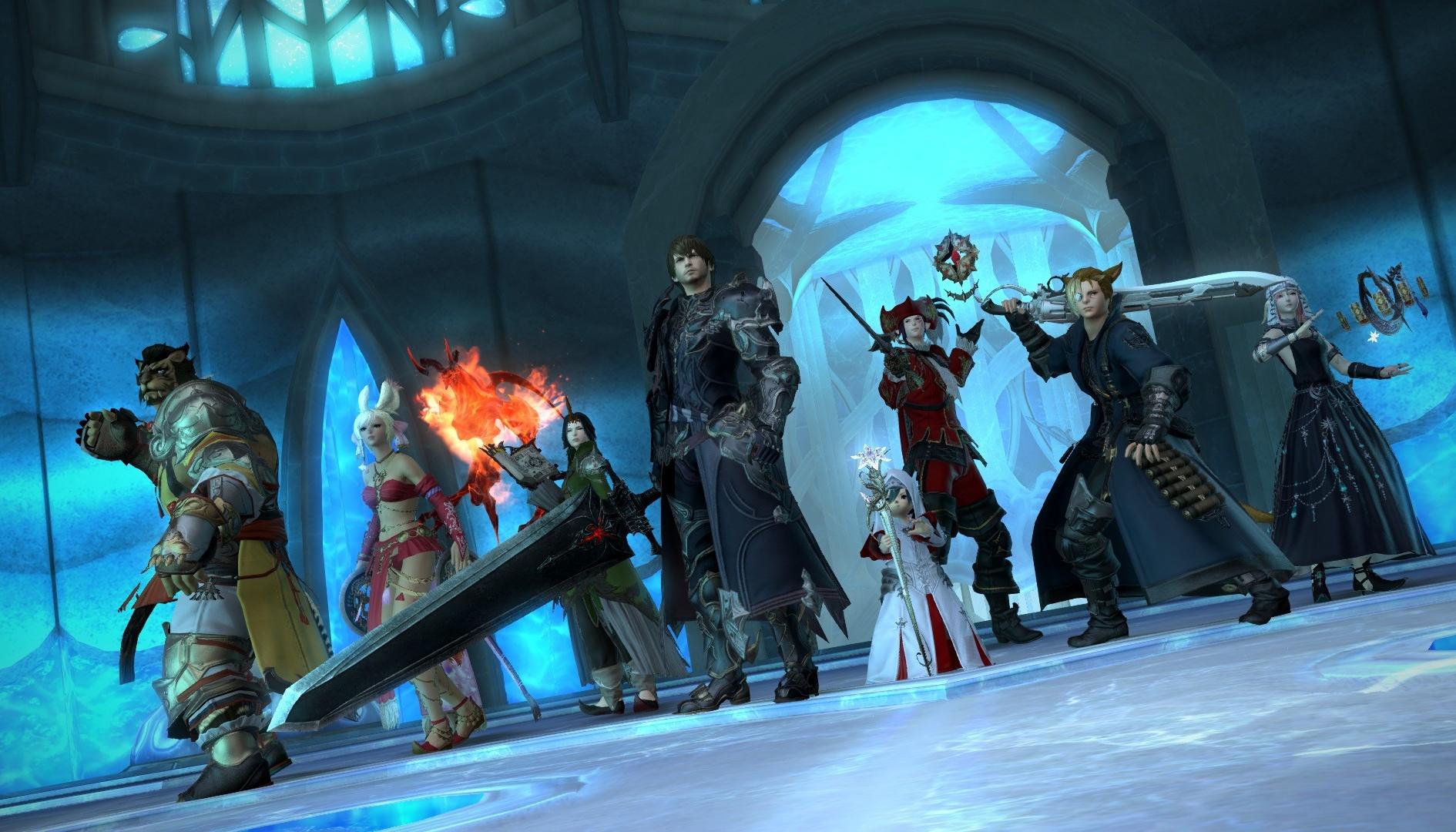 Final Fantasy XIV, è in arrivo Ruby Weapon dal settimo capitolo