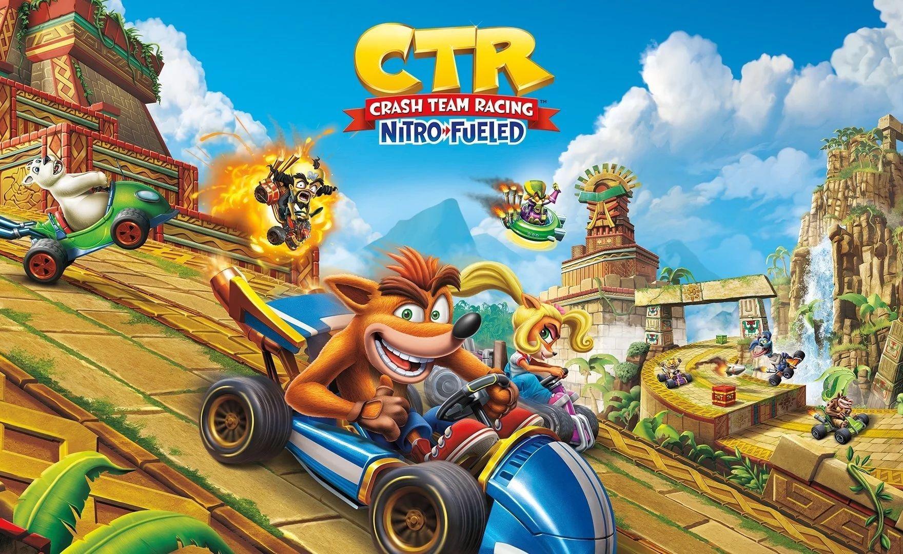 Crash Team Racing Nitro-Fueled: disponibile il Rustland Grand Prix