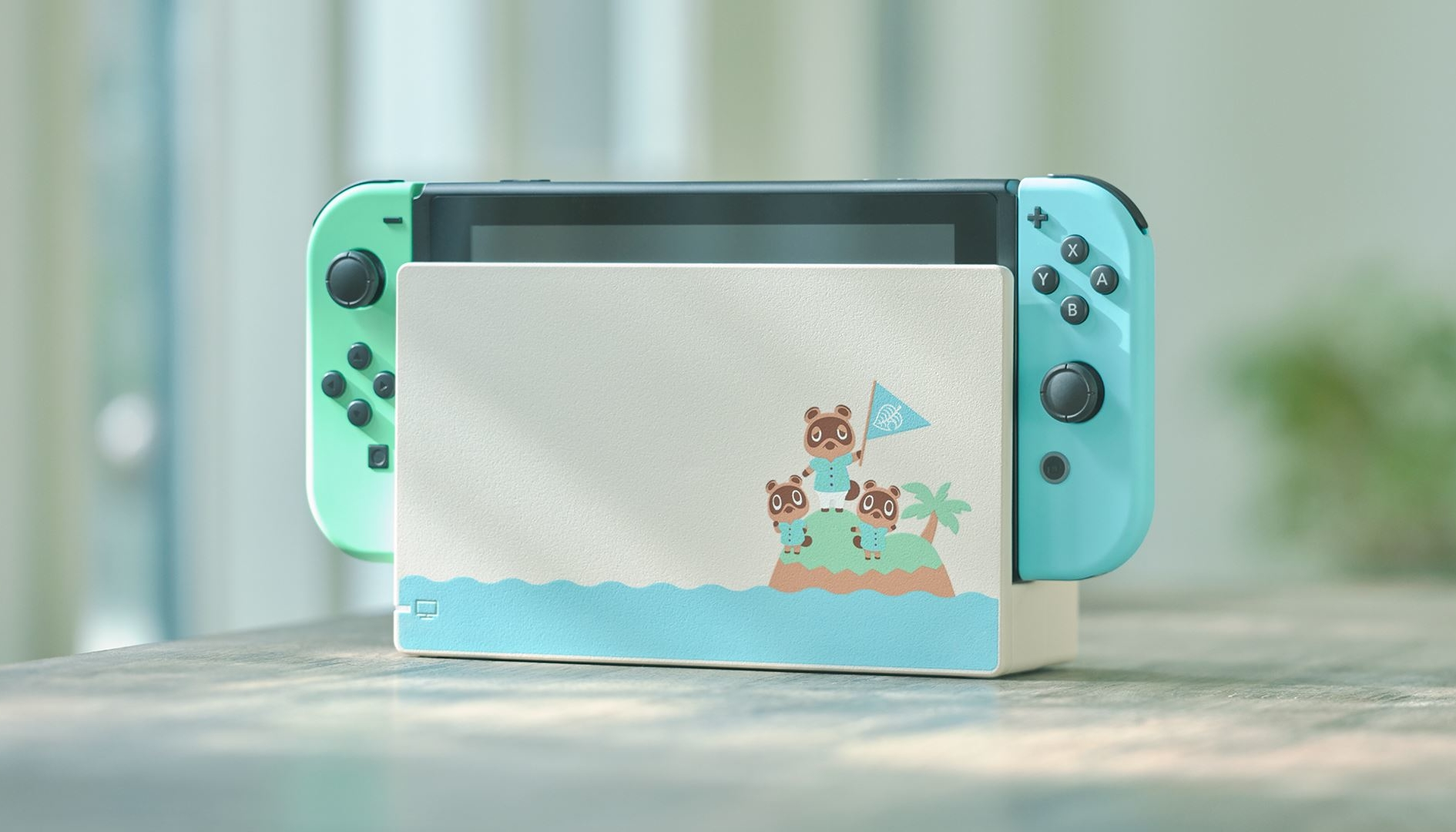 Nintendo Switch: edizione limitata a tema Animal Crossing New Horizons svelata